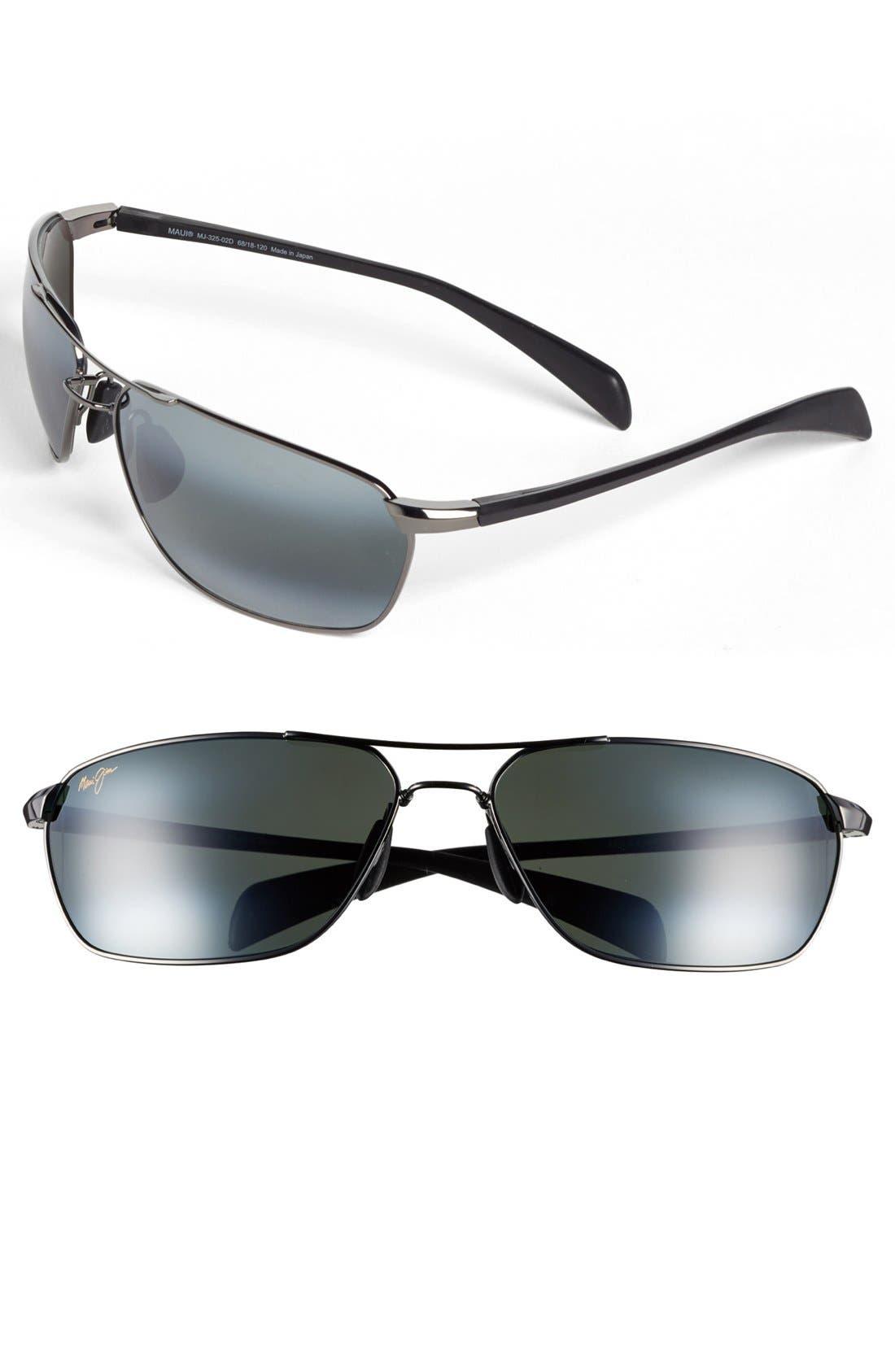Alternate Image 1 Selected - Maui Jim 'Kahului Harbor - PolarizedPlus®2' 68mm Sunglasses