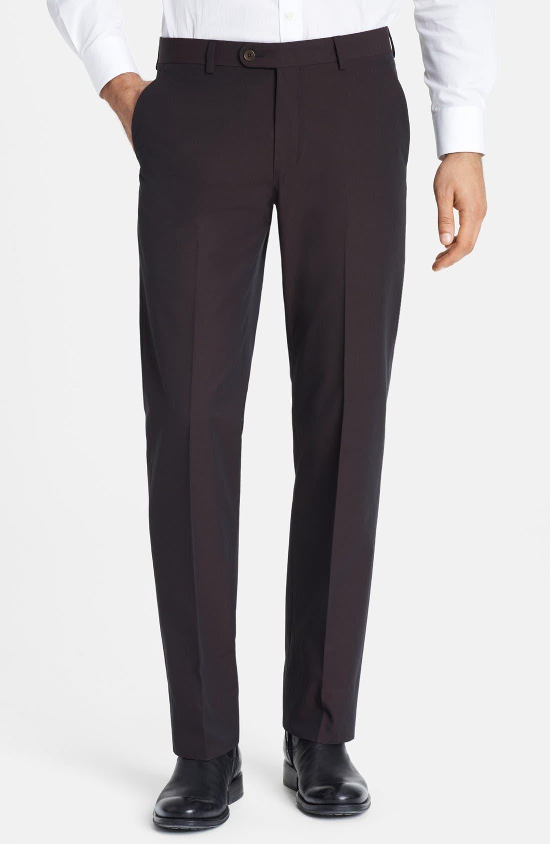 Alternate Image 1 Selected - John Varvatos Star USA Flat Front Trousers