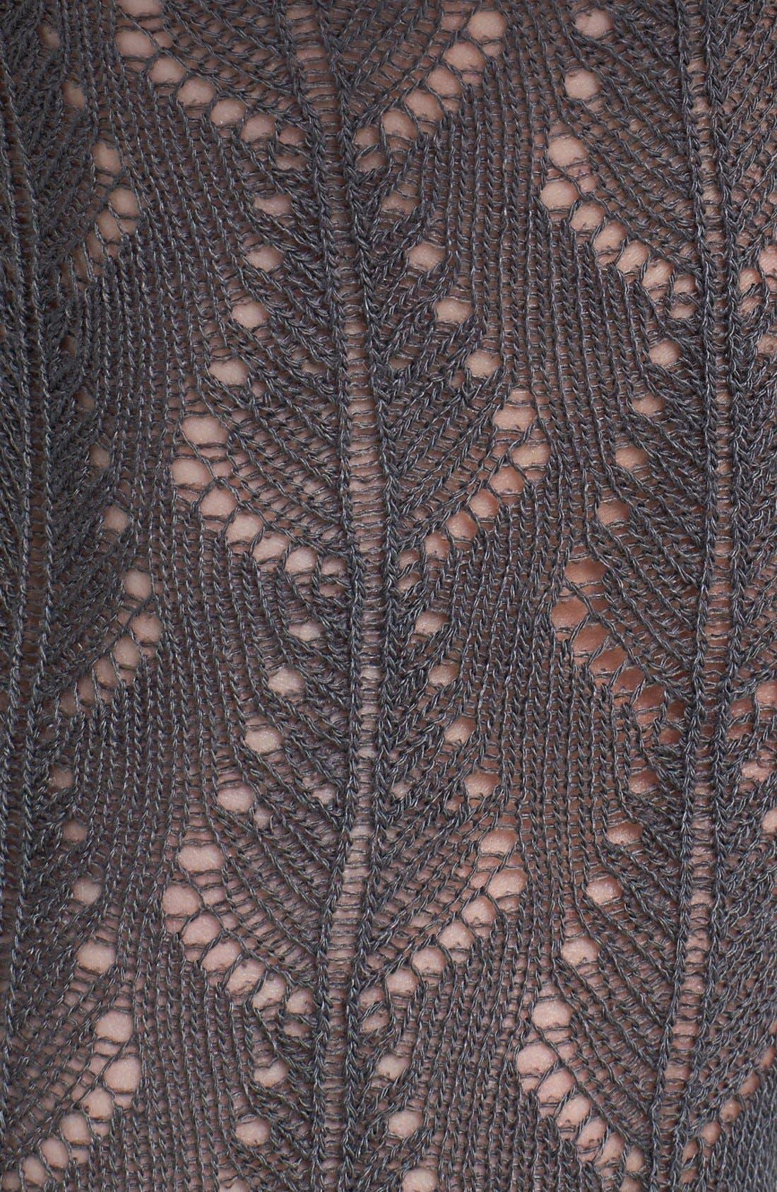 Alternate Image 2  - Nordstrom 'Pretty Pointelle' Tights