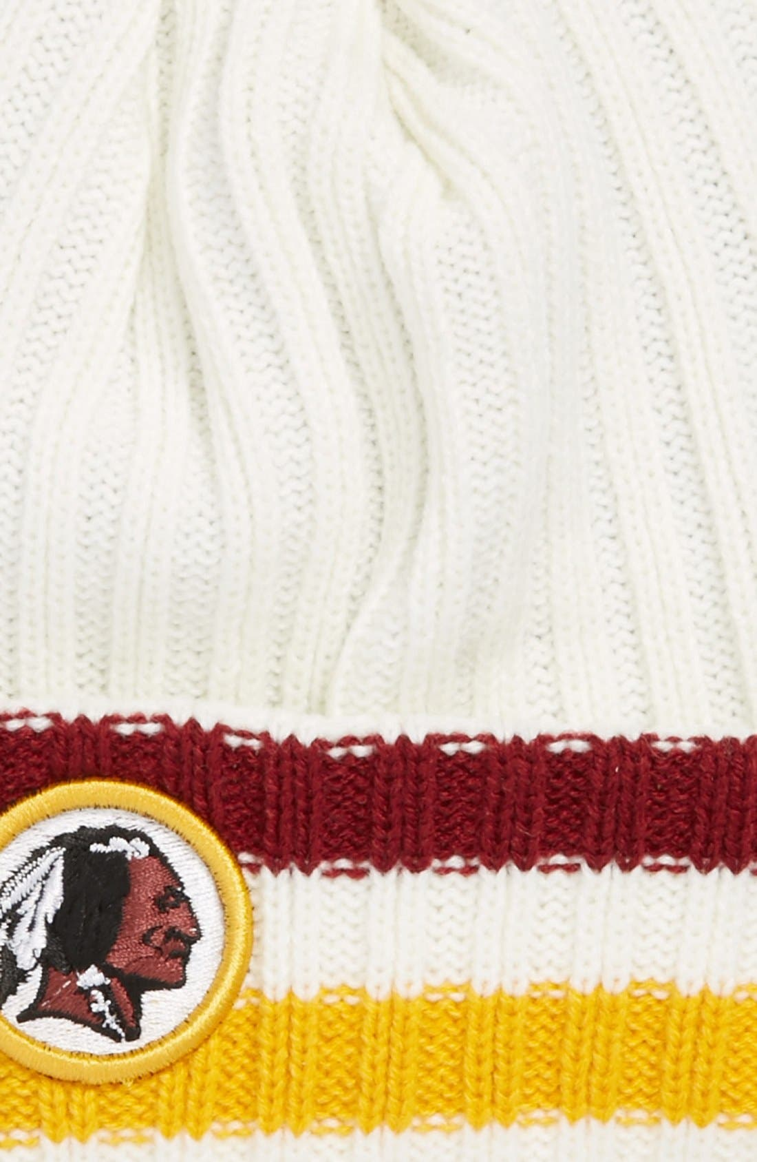 Alternate Image 2  - New Era Cap 'Yesteryear - Washington Redskins' Knit Cap