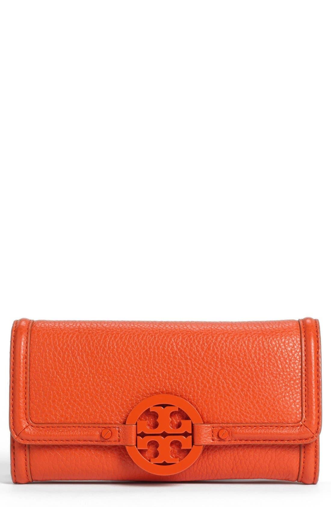 Alternate Image 1 Selected - Tory Burch 'Amanda' Continental Envelope Wallet