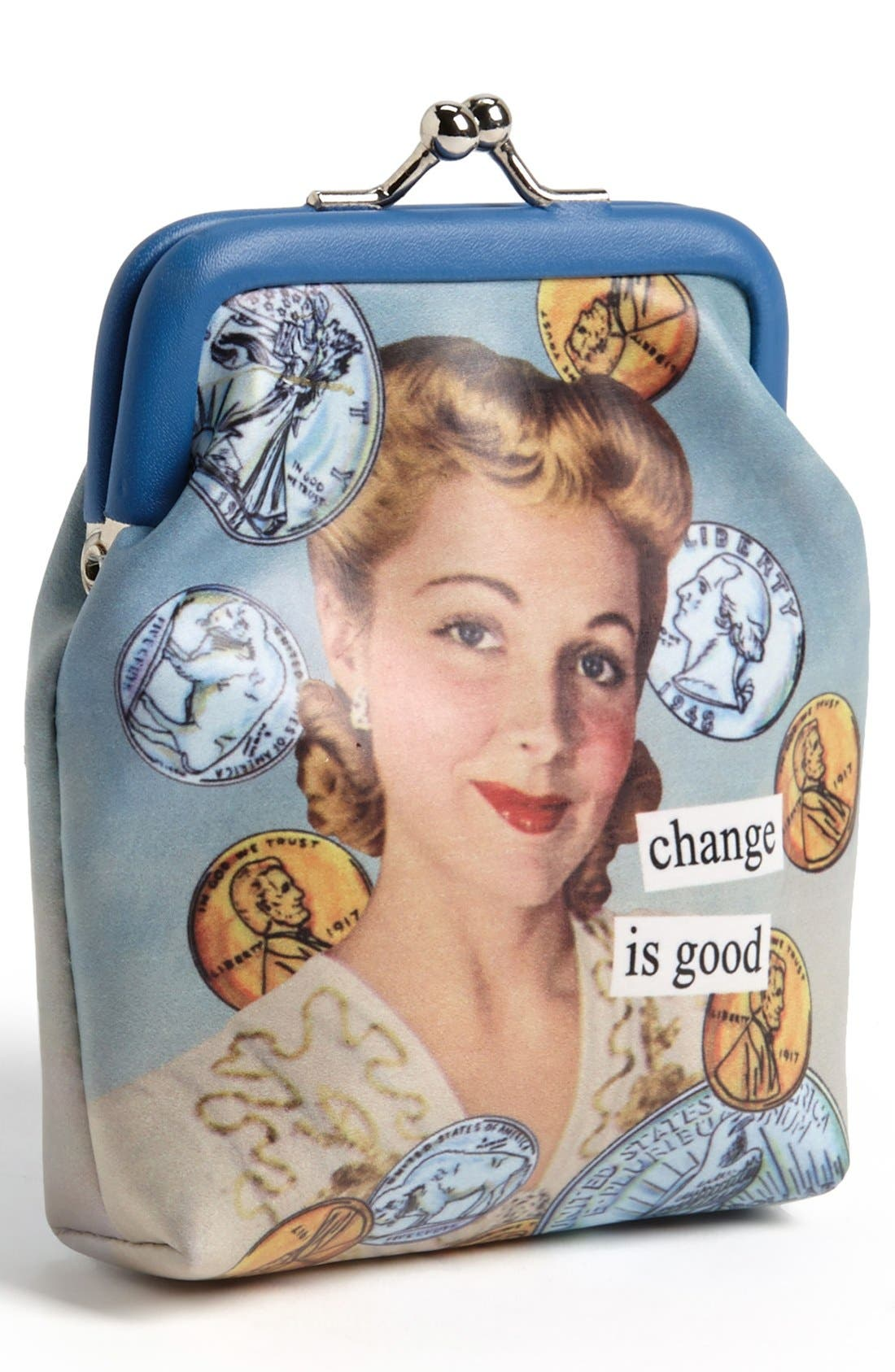 Alternate Image 1 Selected - Anne Taintor Vintage Print Coin Purse