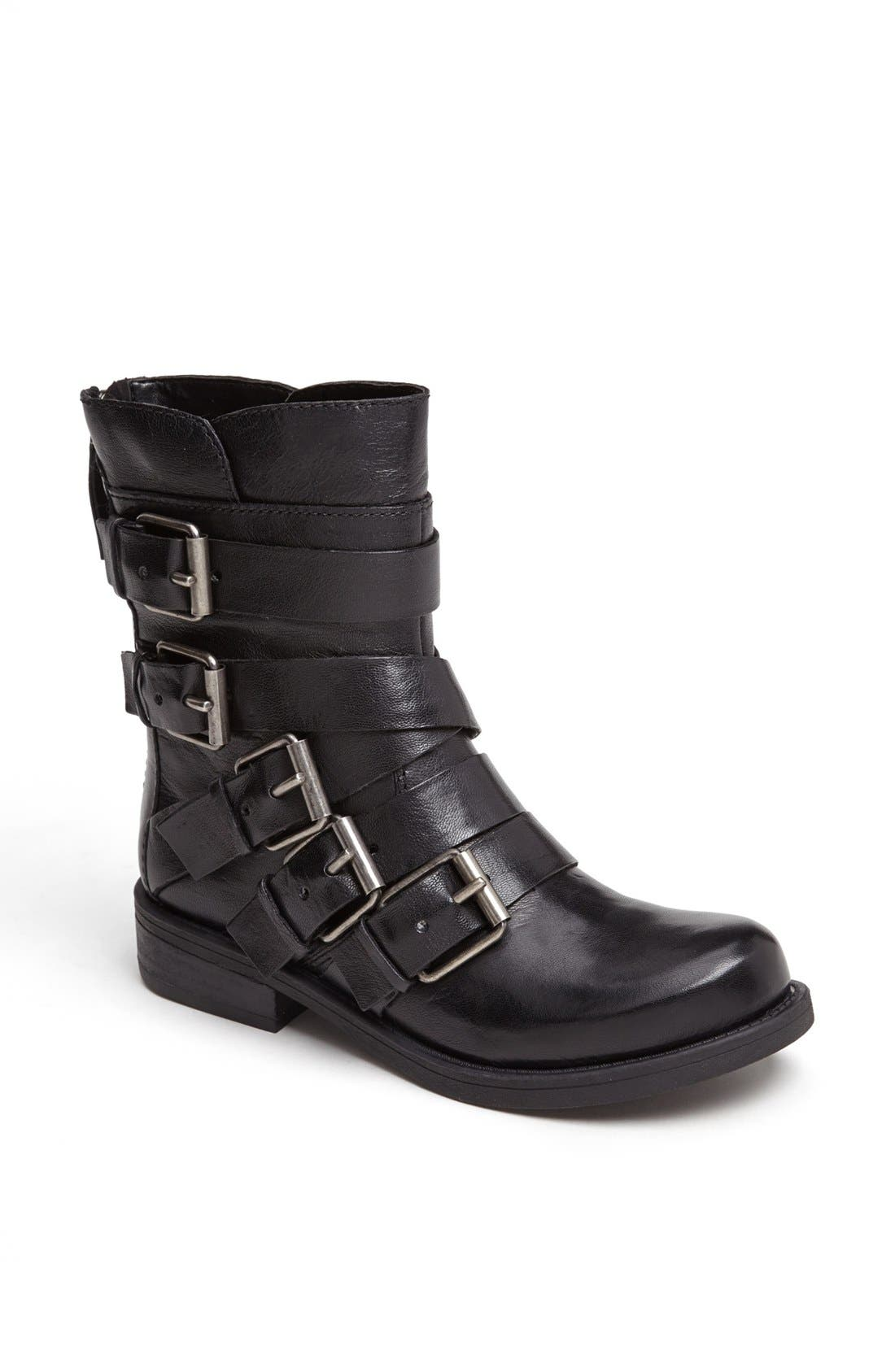 Main Image - Nine West 'Vintage America - Twistedme' Moto Boot