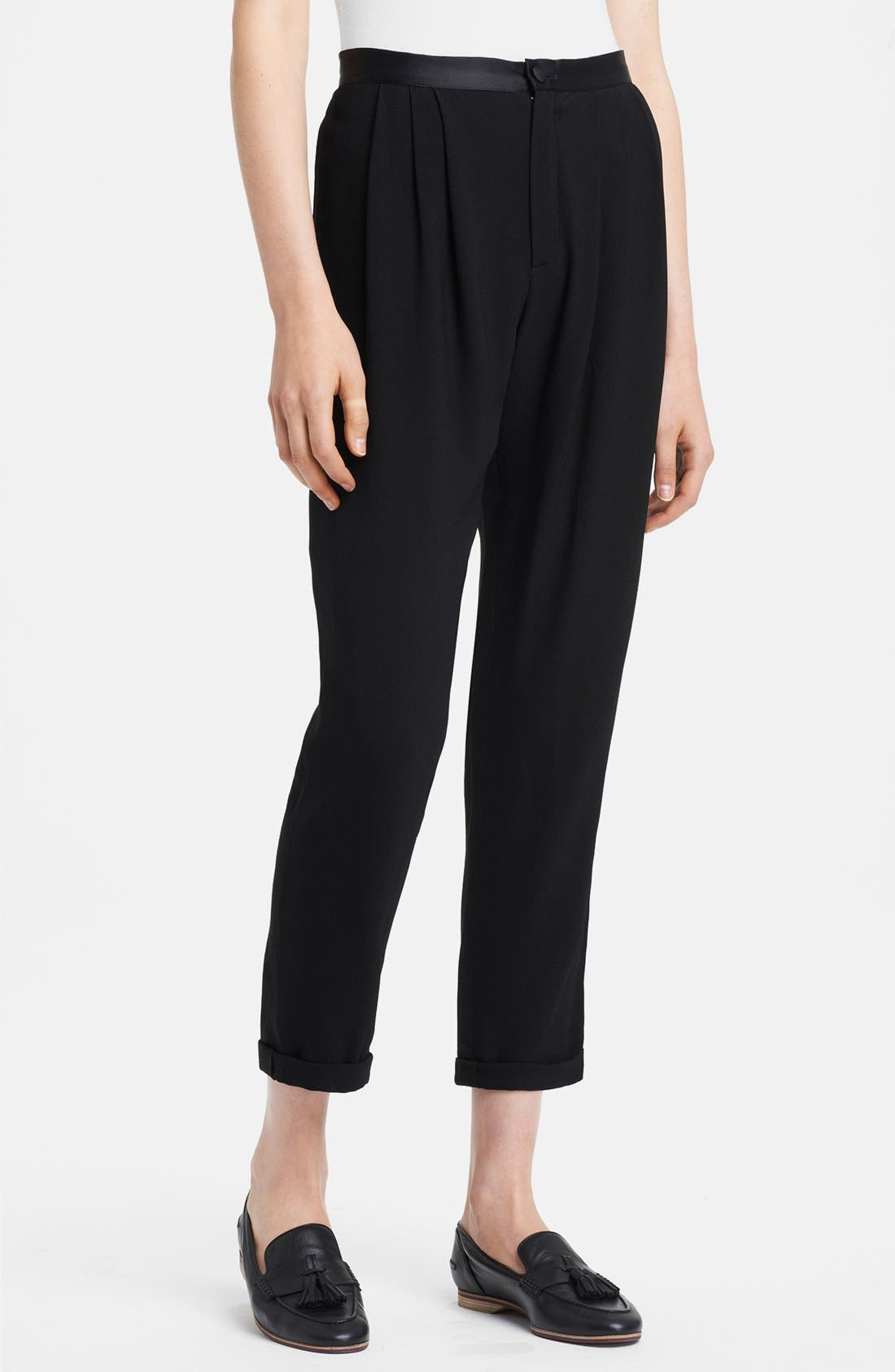 Alternate Image 1 Selected - Band of Outsiders 'Amie' Cady Crop Pants