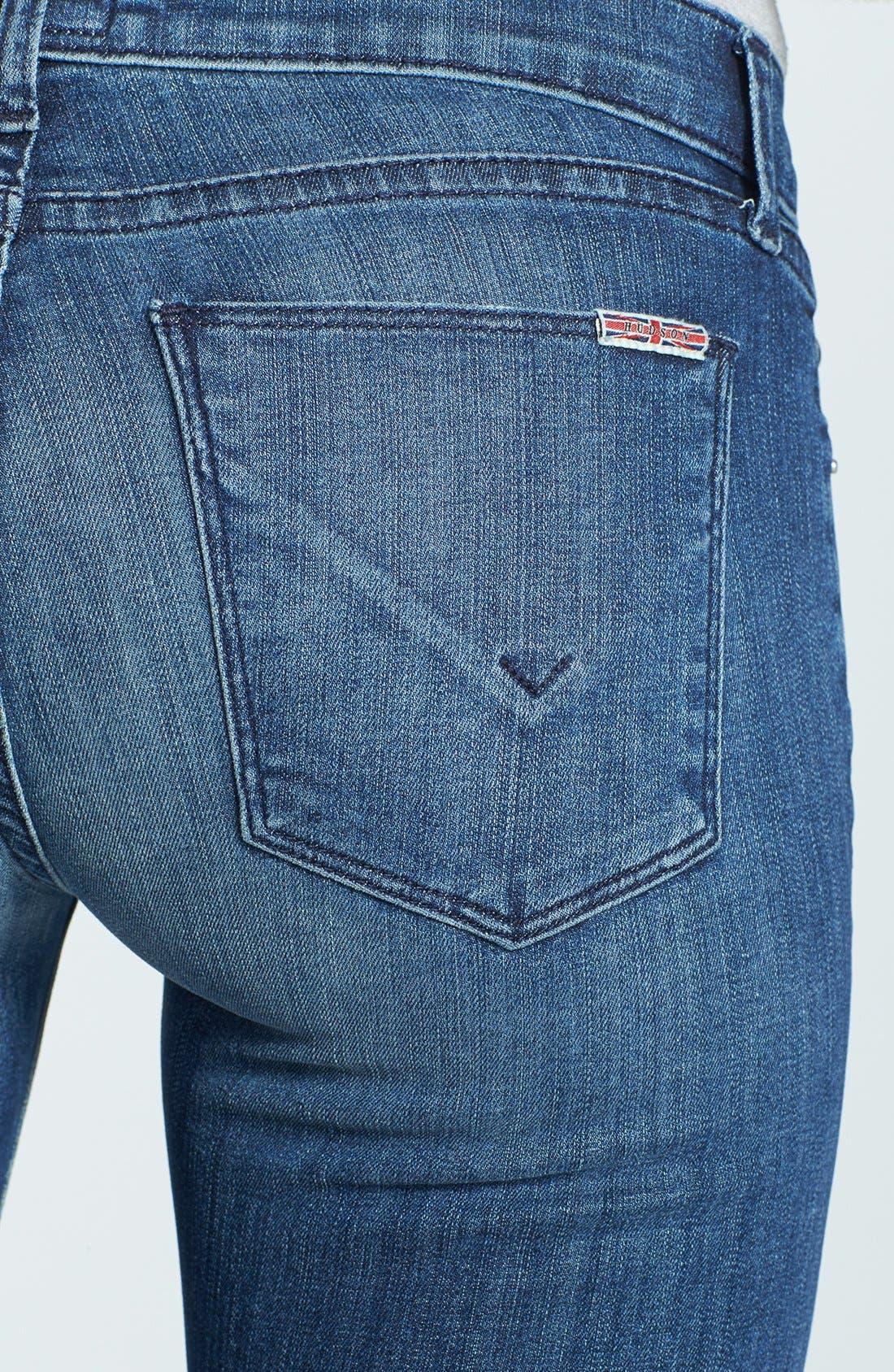 Alternate Image 3  - Hudson Jeans 'Krista' Super Skinny Jeans (Supervixen)