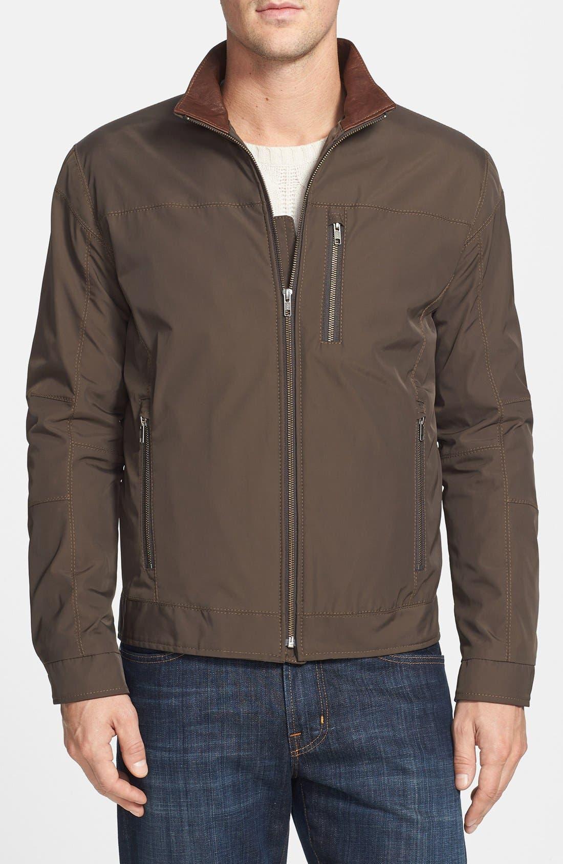 Remy Leather 'Hi Density' Jacket
