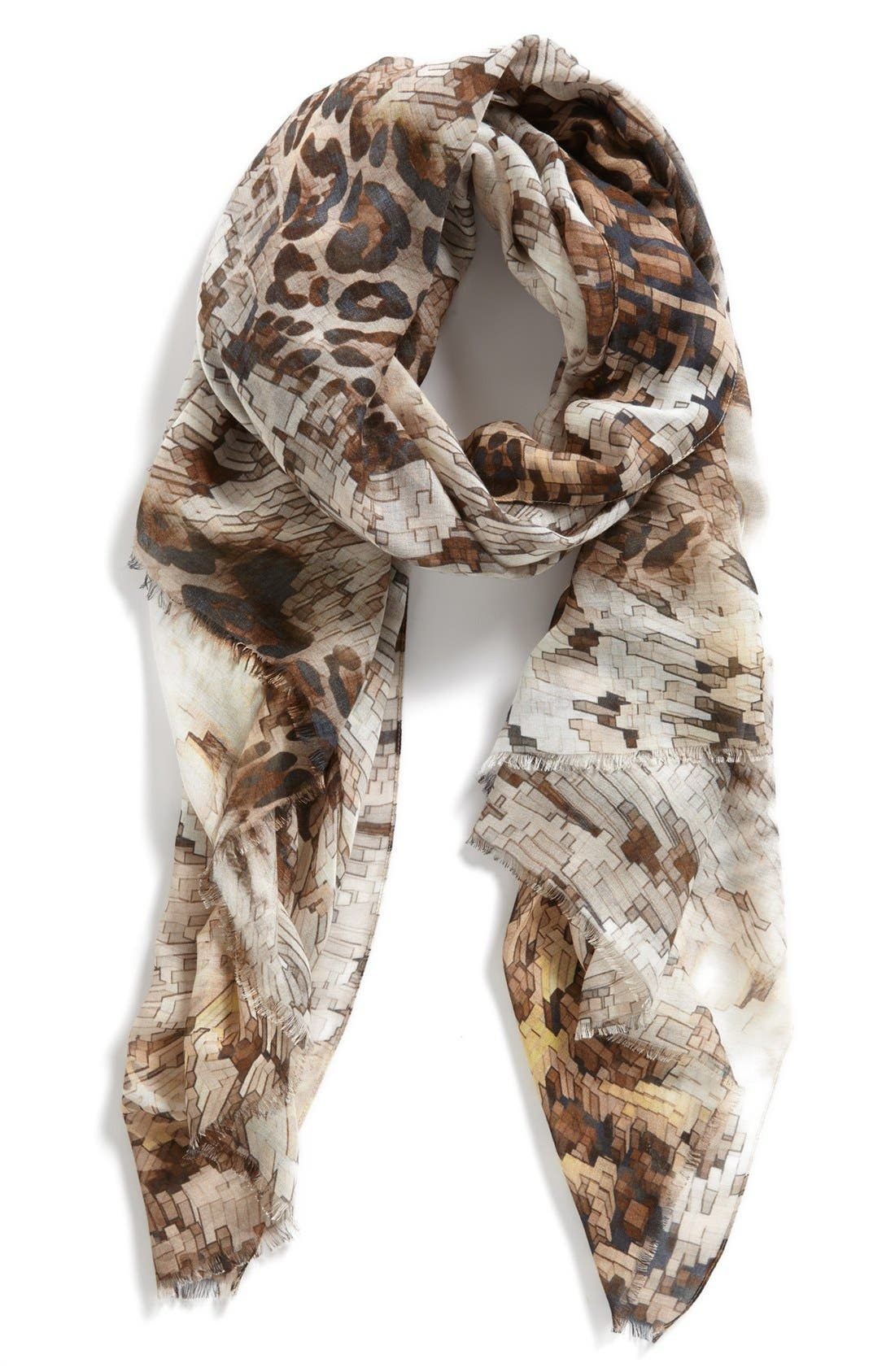 Alternate Image 1 Selected - Nordstrom 'Puzzle' Scarf