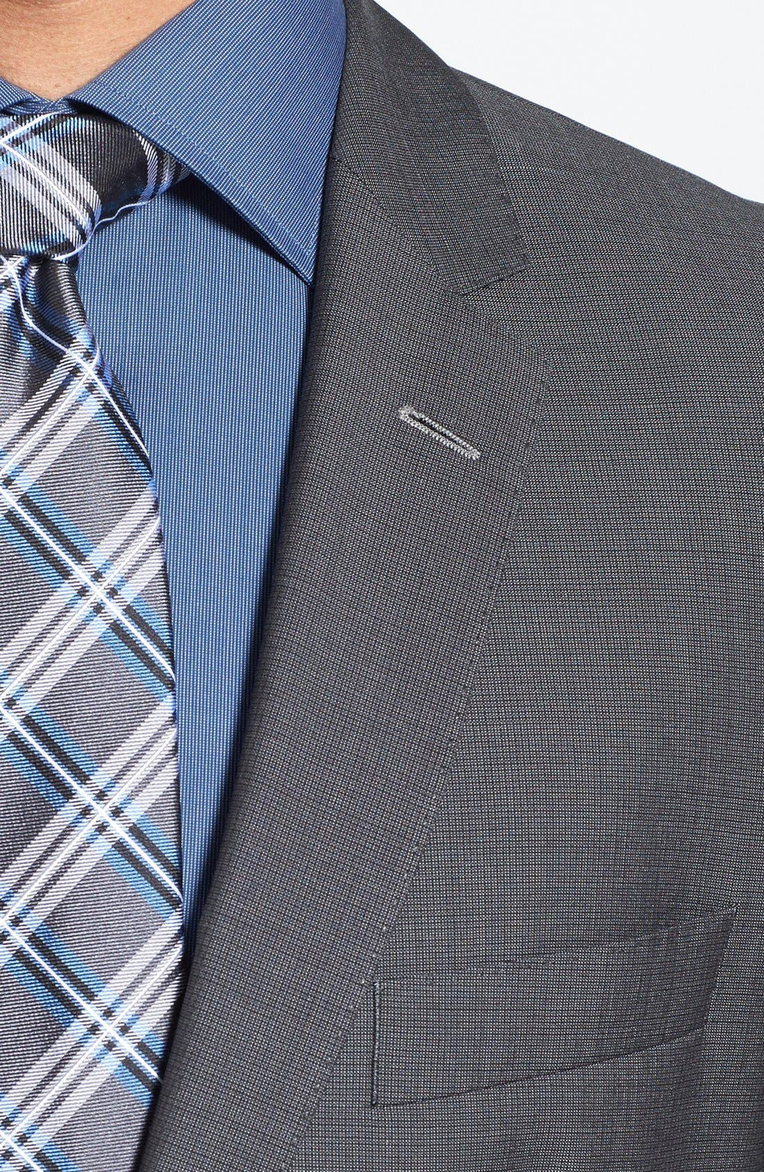 Alternate Image 5  - BOSS HUGO BOSS 'Edison/Power' Classic Fit Wool Blend Suit