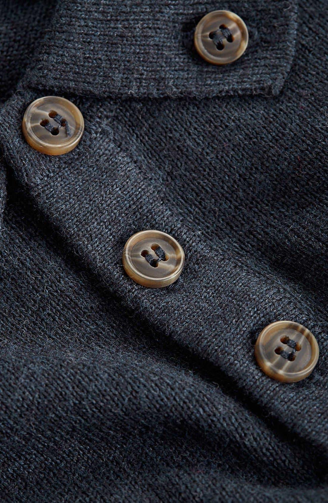 Alternate Image 3  - Topman Long Sleeve Knit Polo