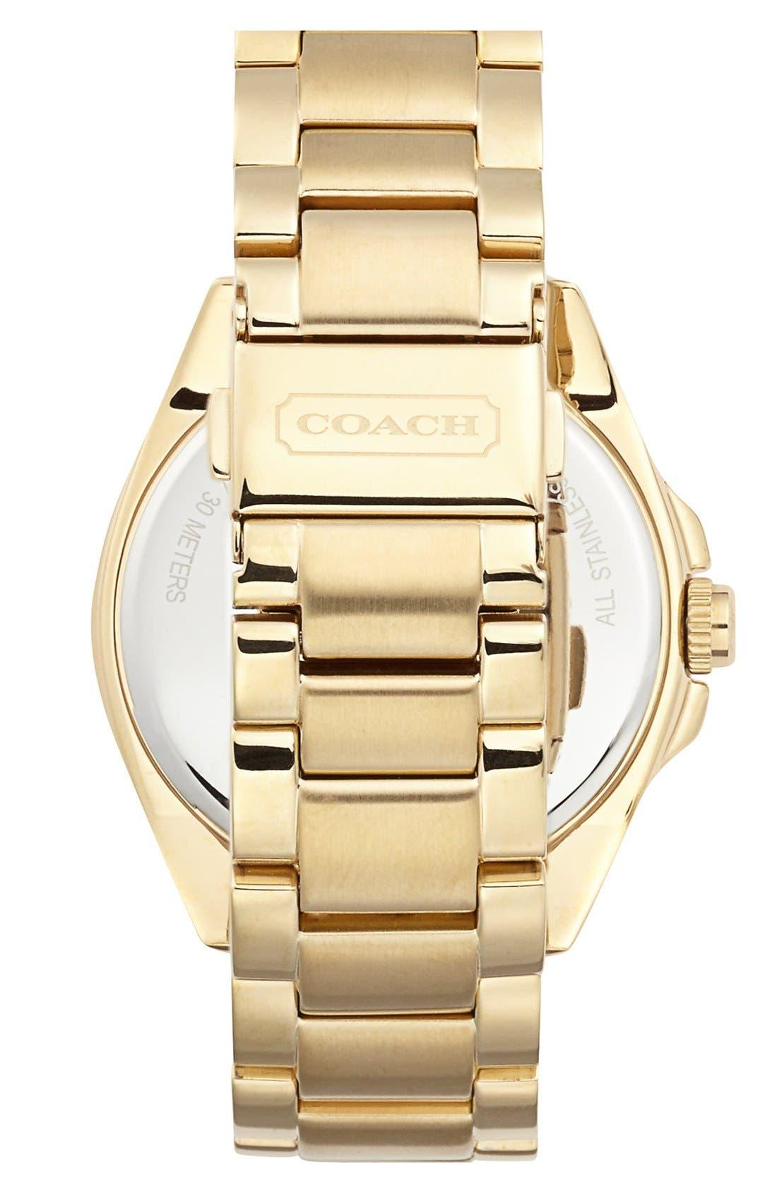 Alternate Image 2  - COACH 'Tristen' Multi Eye Dial Bracelet Watch, 36mm