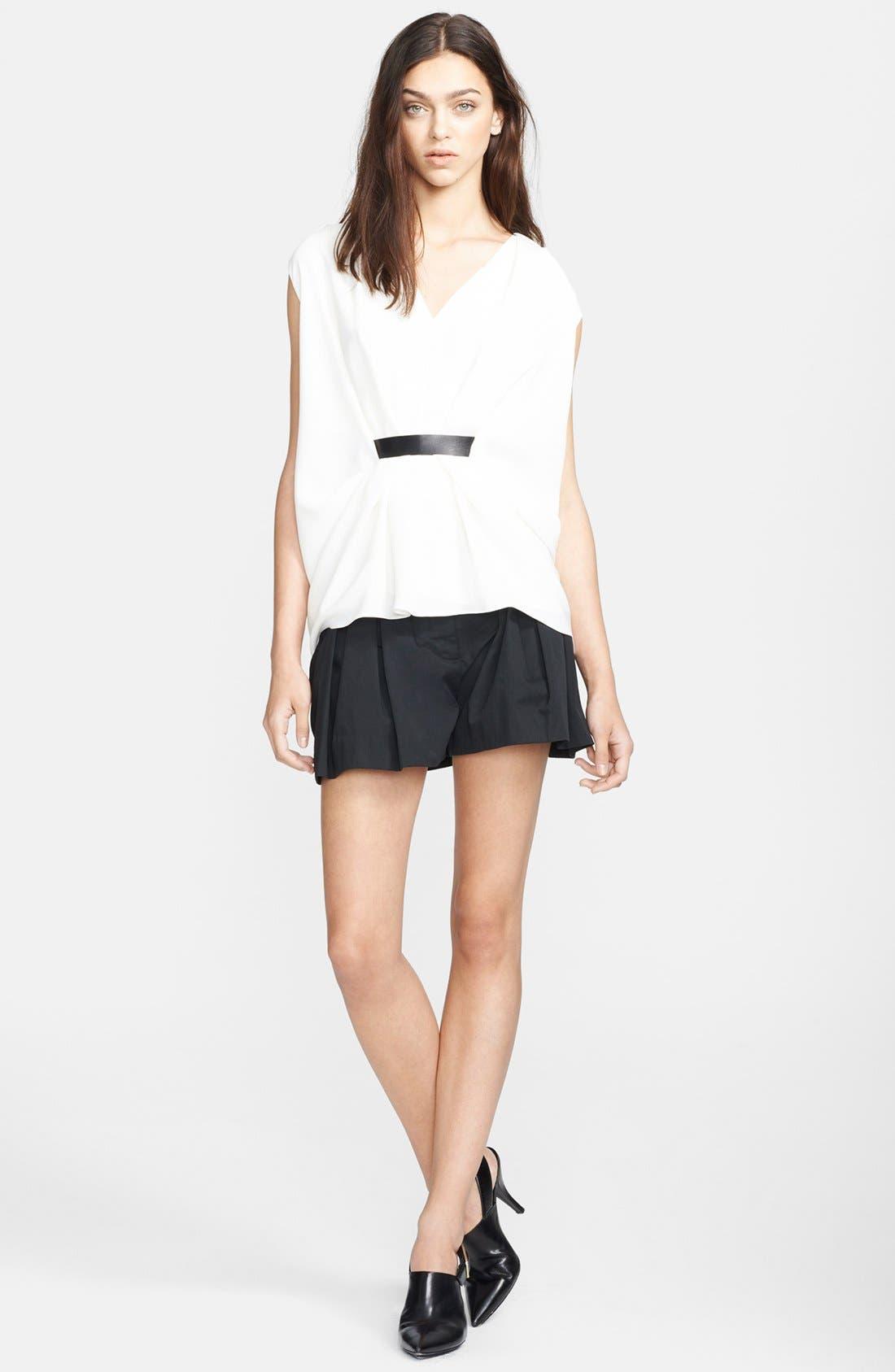 Alternate Image 3  - Alexander Wang Pleated Waist Bloomer Shorts