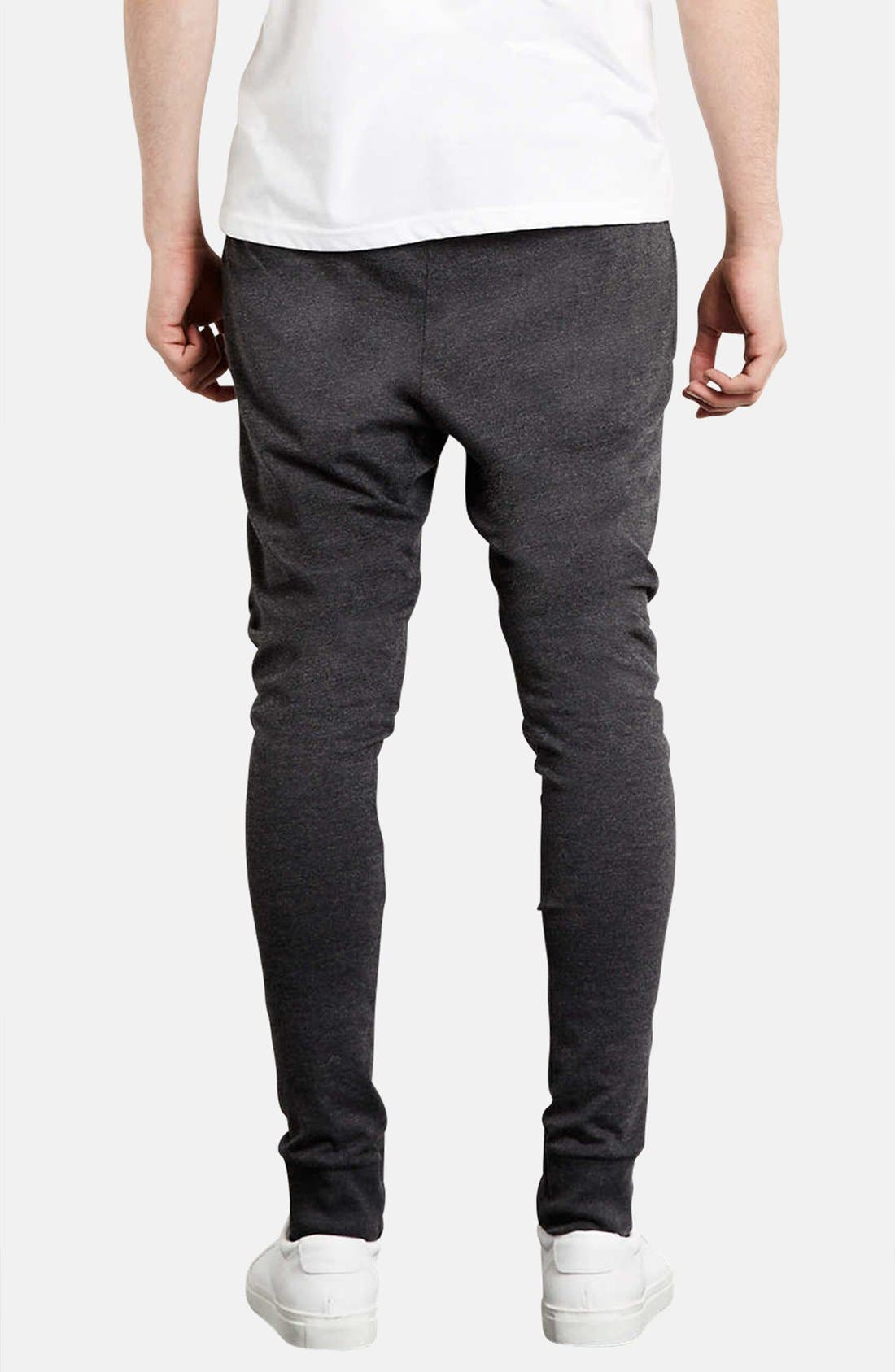 Alternate Image 2  - Topman Skinny Fit Jogger Sweatpants