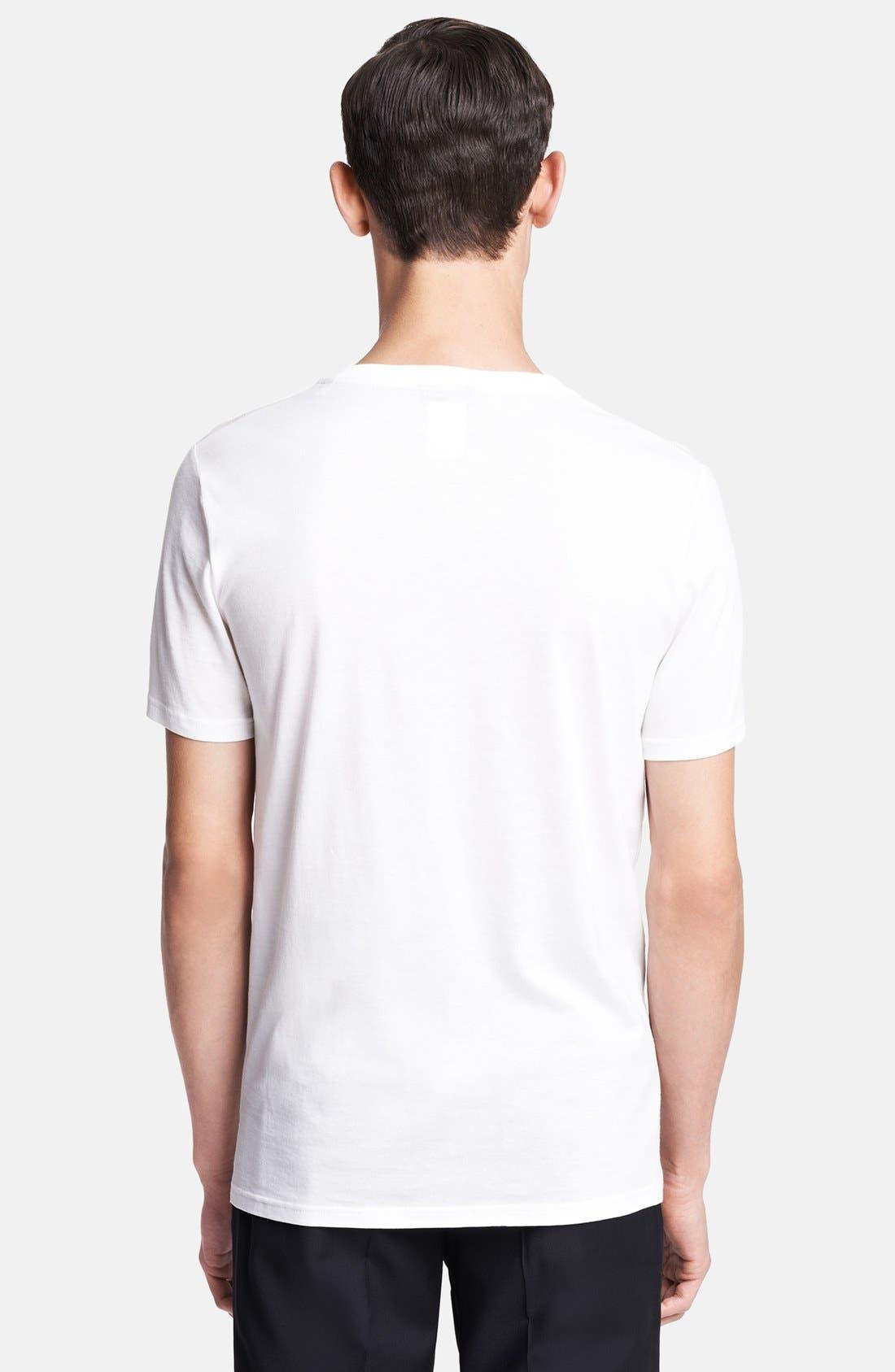 Alternate Image 2  - Lanvin 'Iridescent Logo' Crewneck T-Shirt