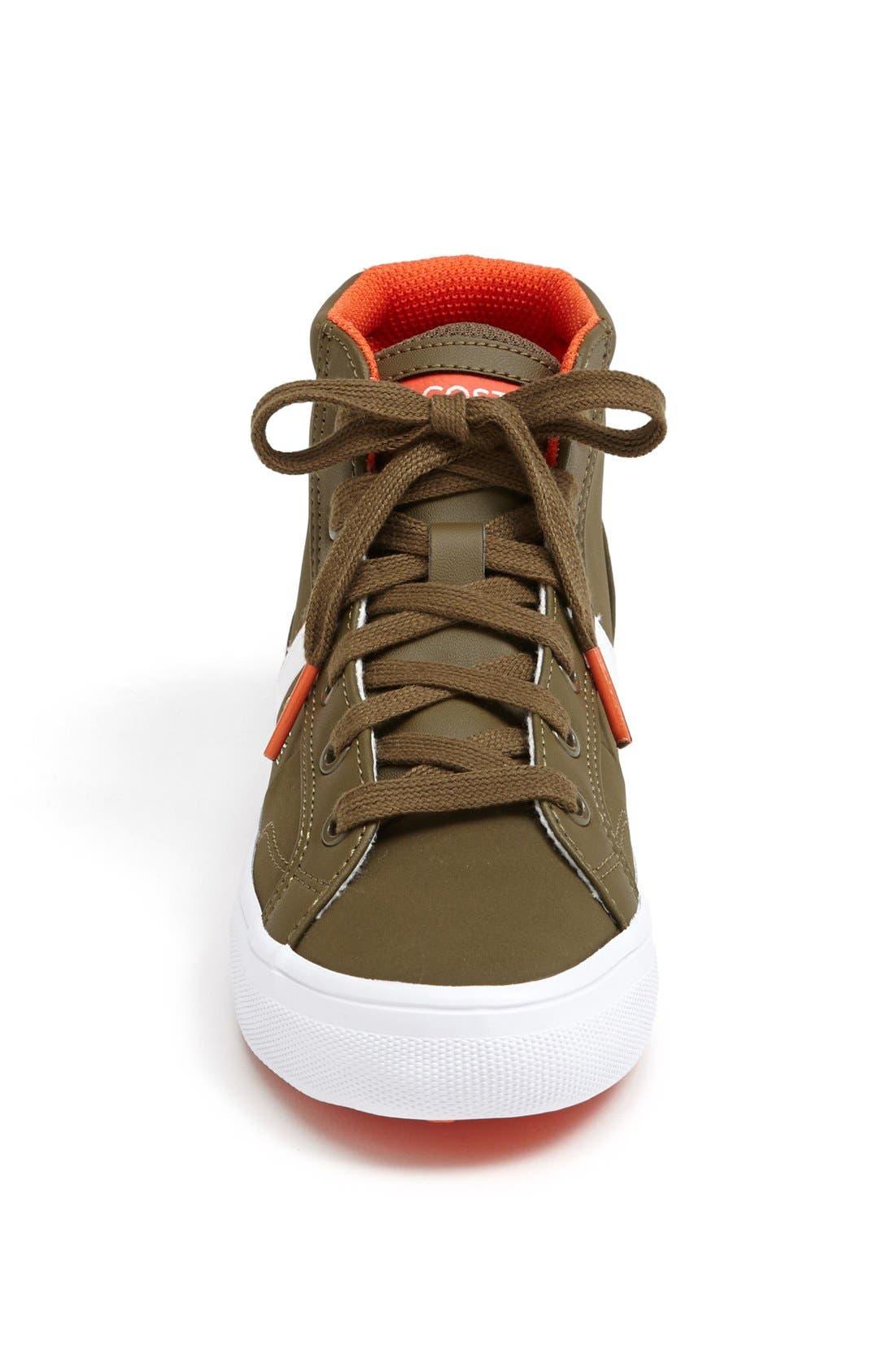 Alternate Image 3  - Lacoste 'Fairlead' High Top Sneaker (Toddler, Little Kid & Big Kid)