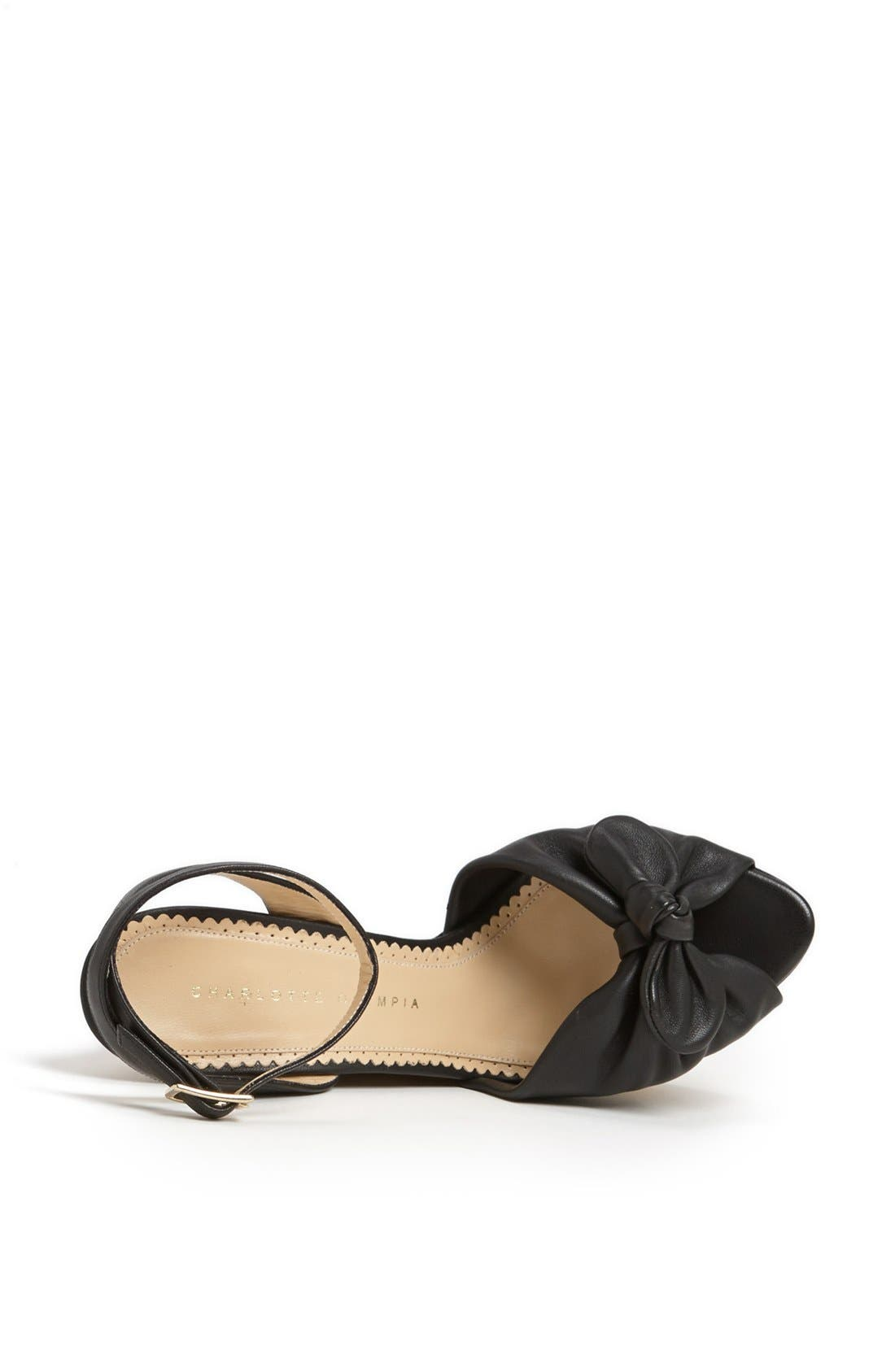 Alternate Image 3  - Charlotte Olympia 'Archie' Wedge Sandal (Nordstrom Exclusive)