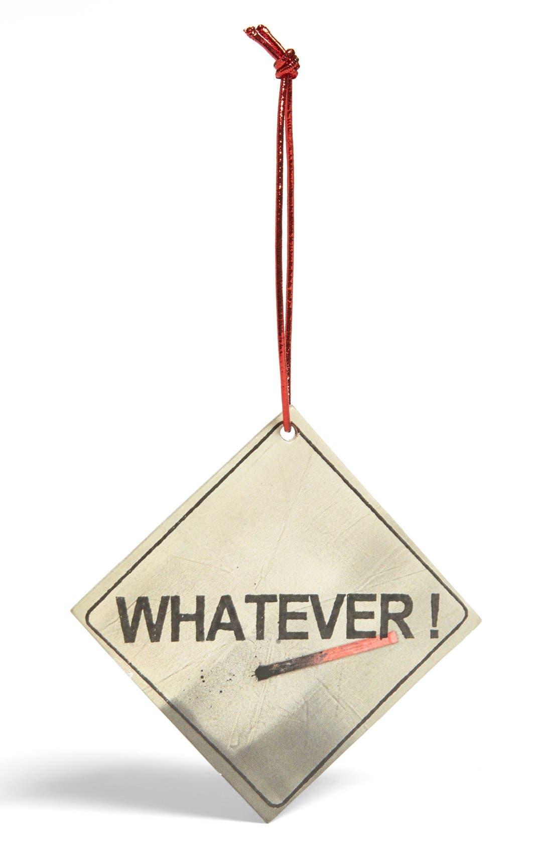 Main Image - RxArt 'Warning Sign' Ornament