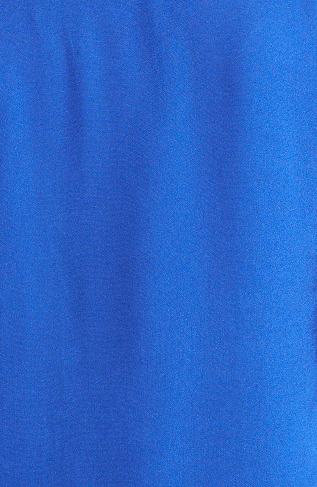 Alternate Image 4  - Lanvin Grosgrain Placket Washed Cotton Woven Blouse
