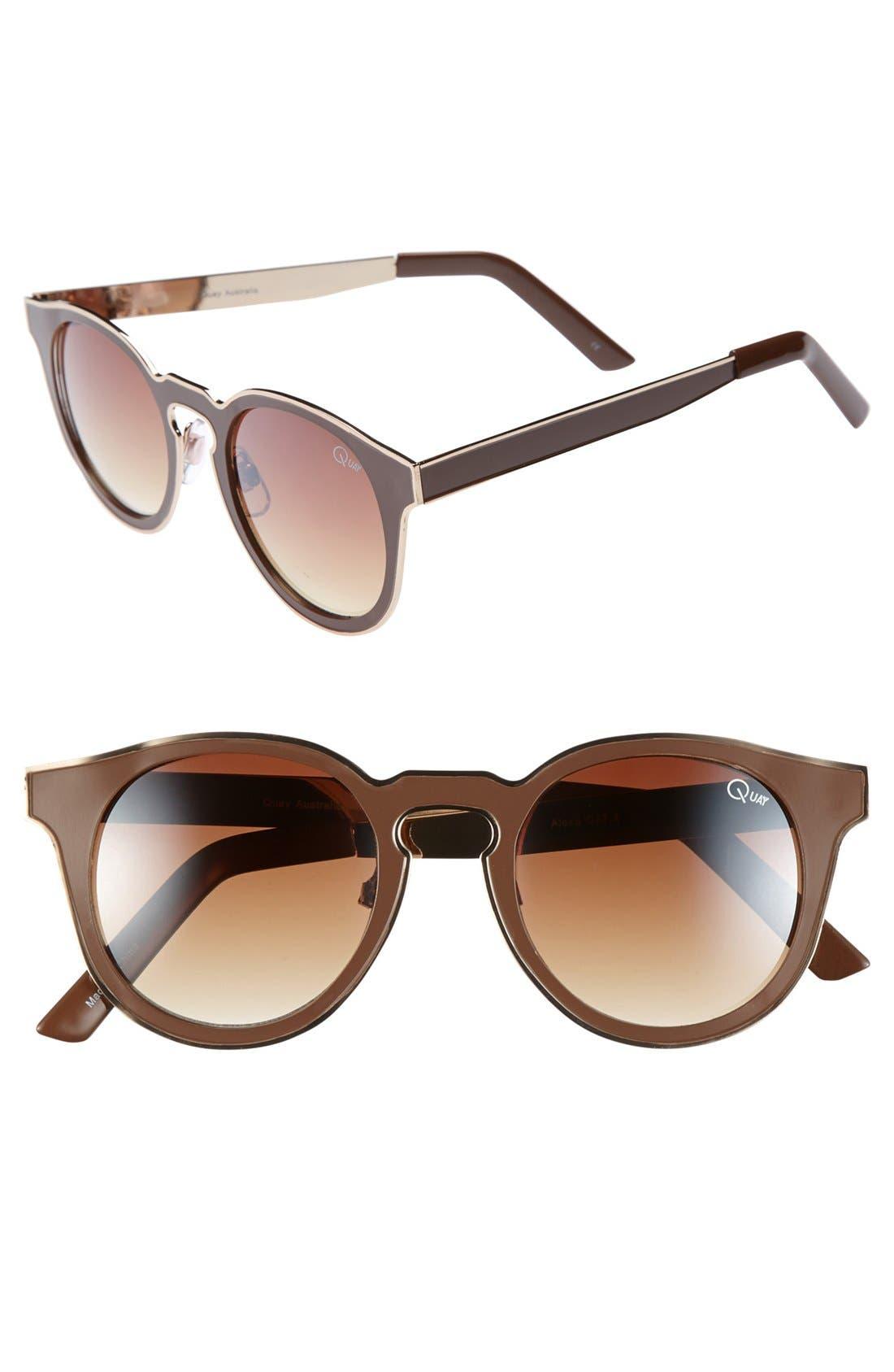 Alternate Image 1 Selected - Quay 'Alexa' 50mm Cat Eye Sunglasses