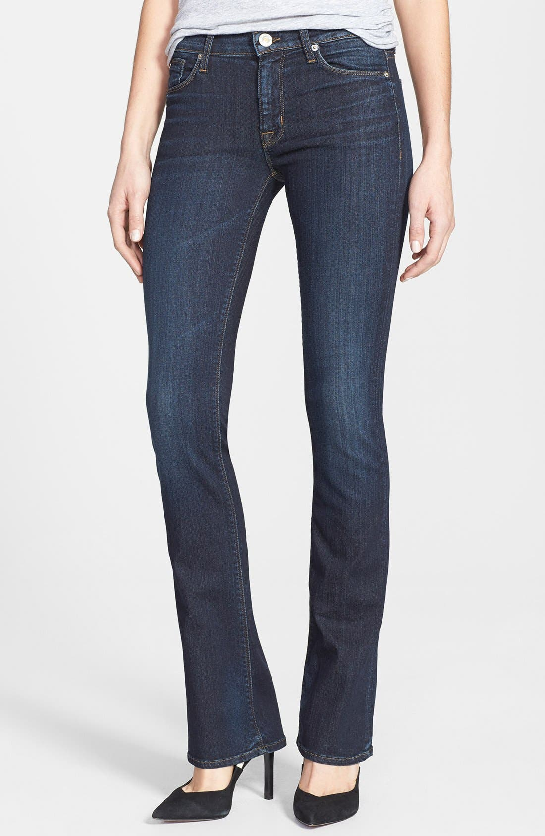Alternate Image 1 Selected - Hudson Jeans 'Love' Mid Rise Bootcut Jeans (Shirley)