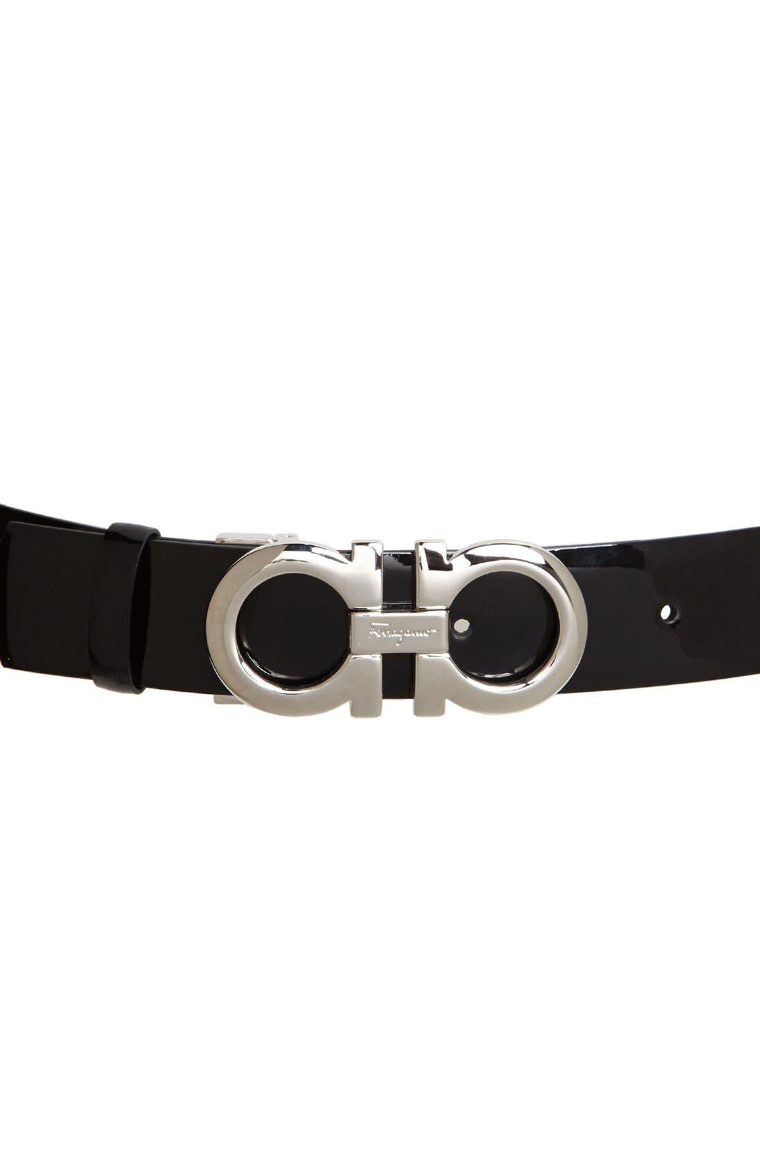 Alternate Image 2  - Salvatore Ferragamo Patent Leather Belt