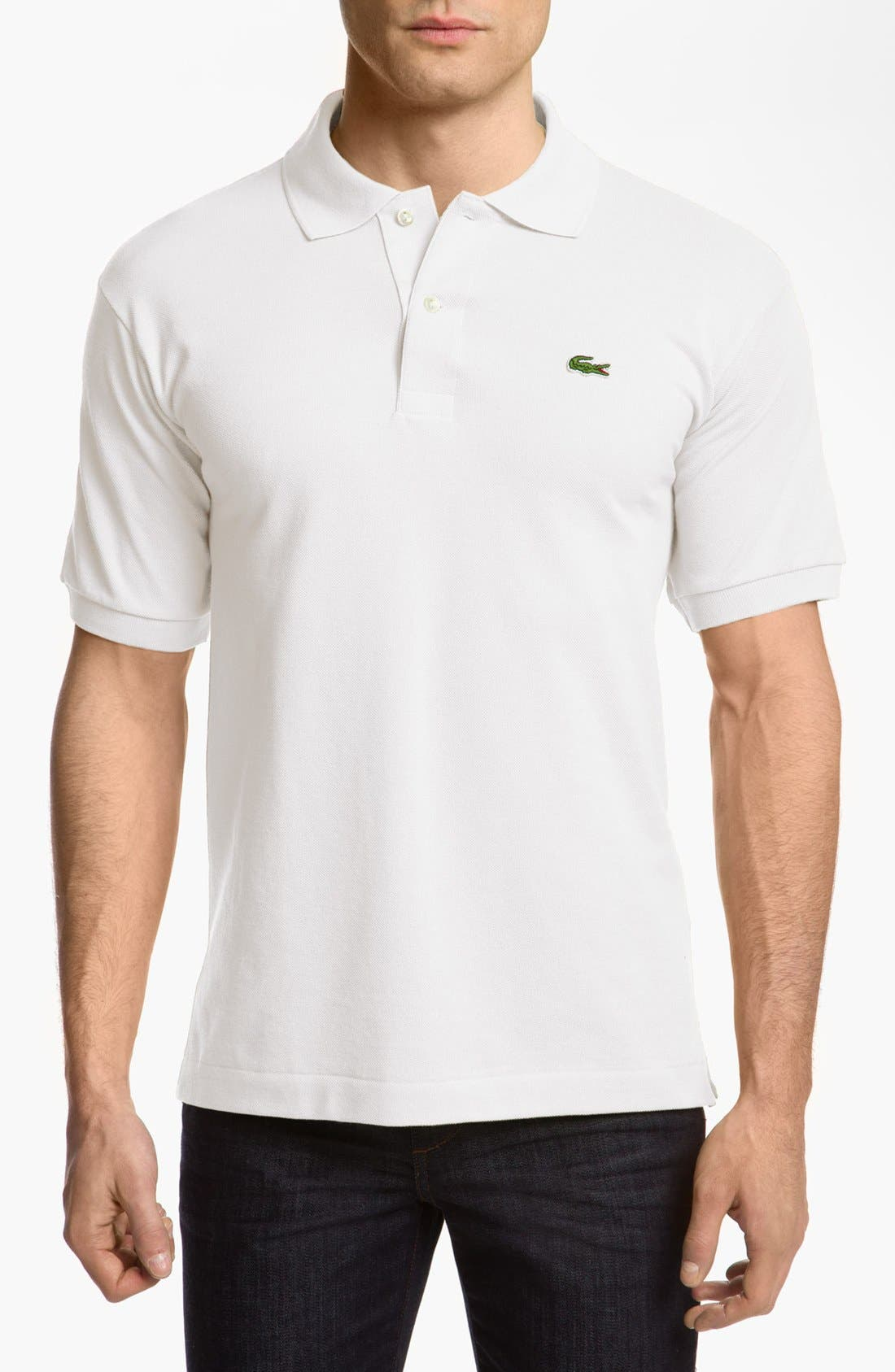 Alternate Image 1 Selected - Lacoste 'L1212' Piqué Polo