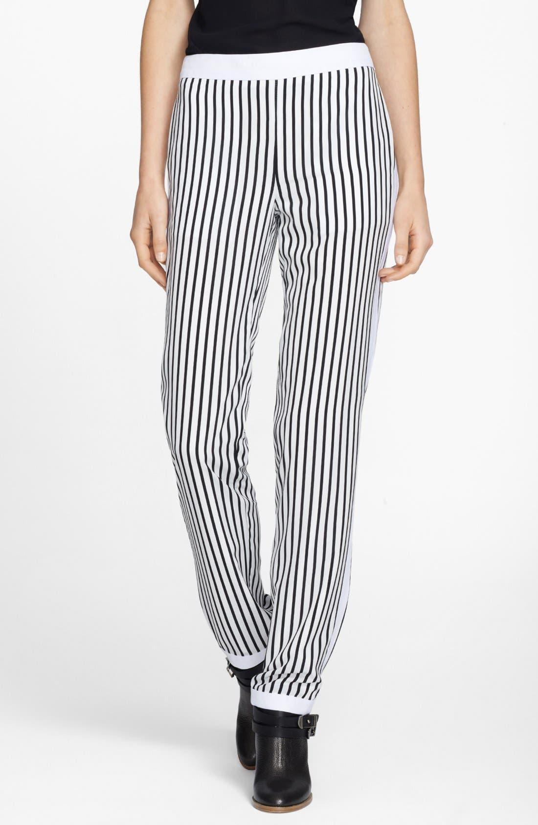 Main Image - J Brand Ready-To-Wear 'Delia' Stripe Trousers