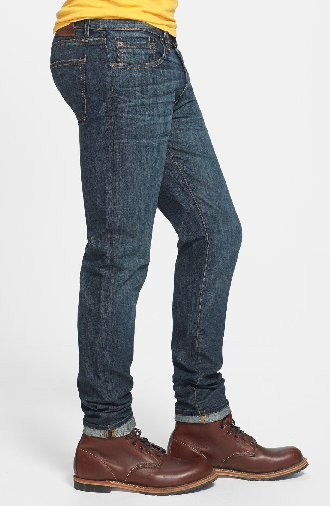 Alternate Image 3  - J Brand Skinny Fit Selvedge Jeans (Theorem)