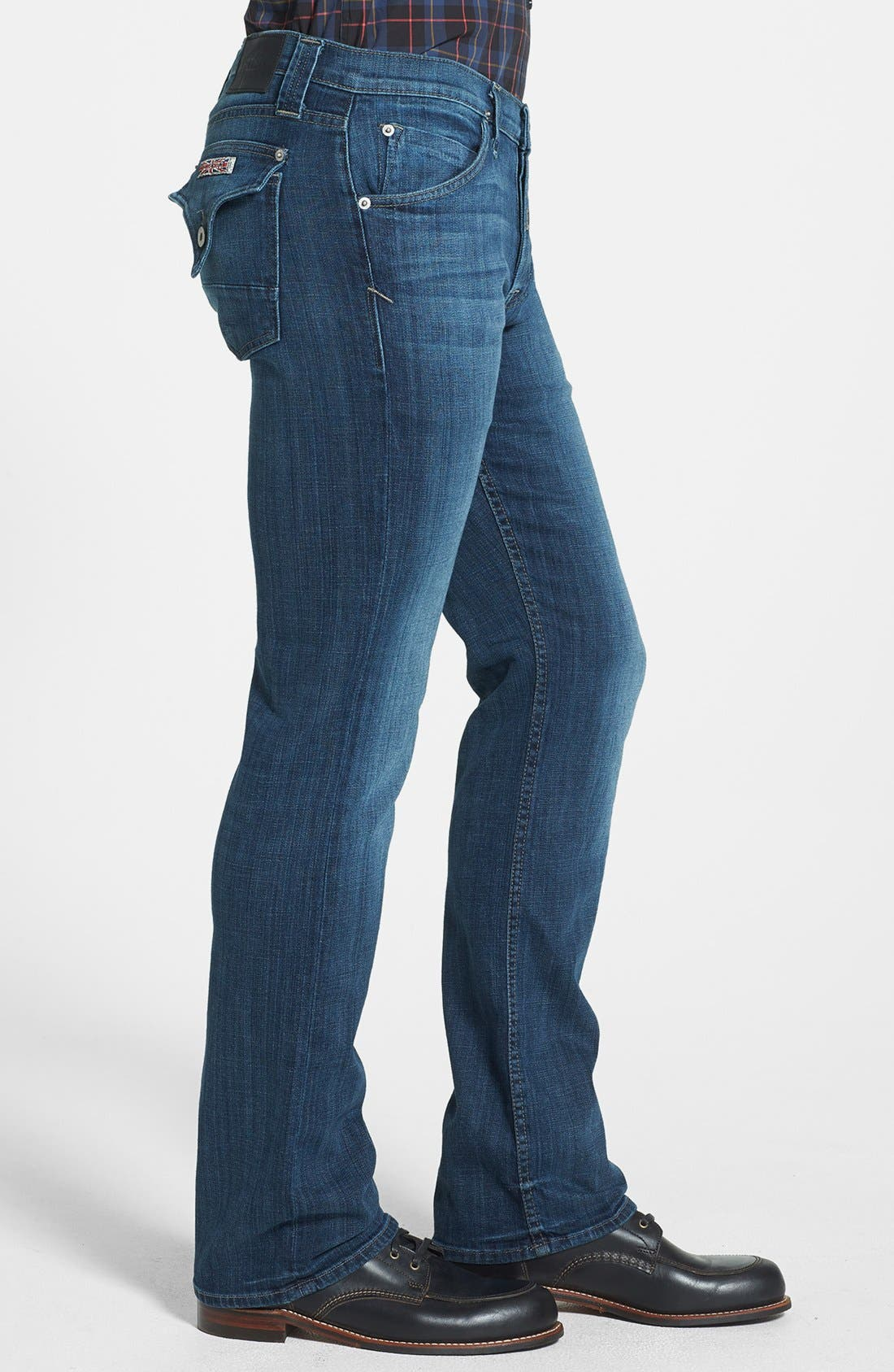 Alternate Image 3  - Hudson Jeans 'Webber' Bootcut Jeans (Harris) (Online Exclusive)