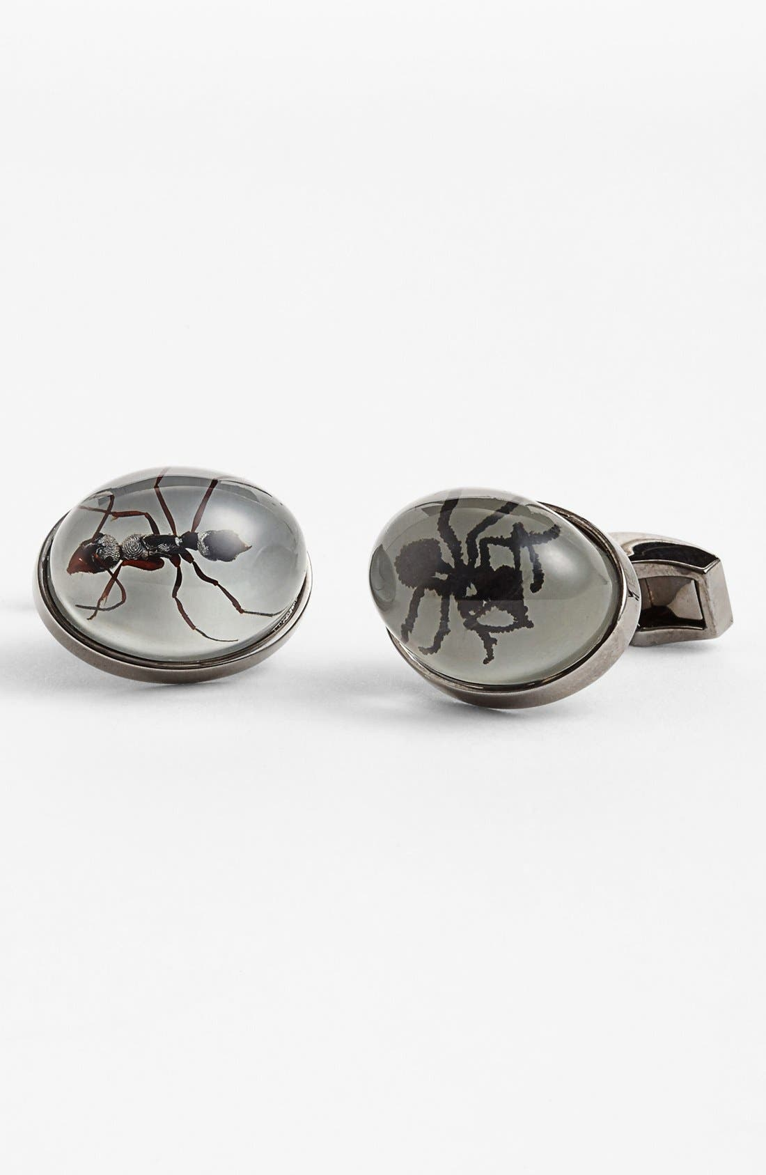 Main Image - Tateossian 'Deadly Creatures - Black Ant' Cuff Links