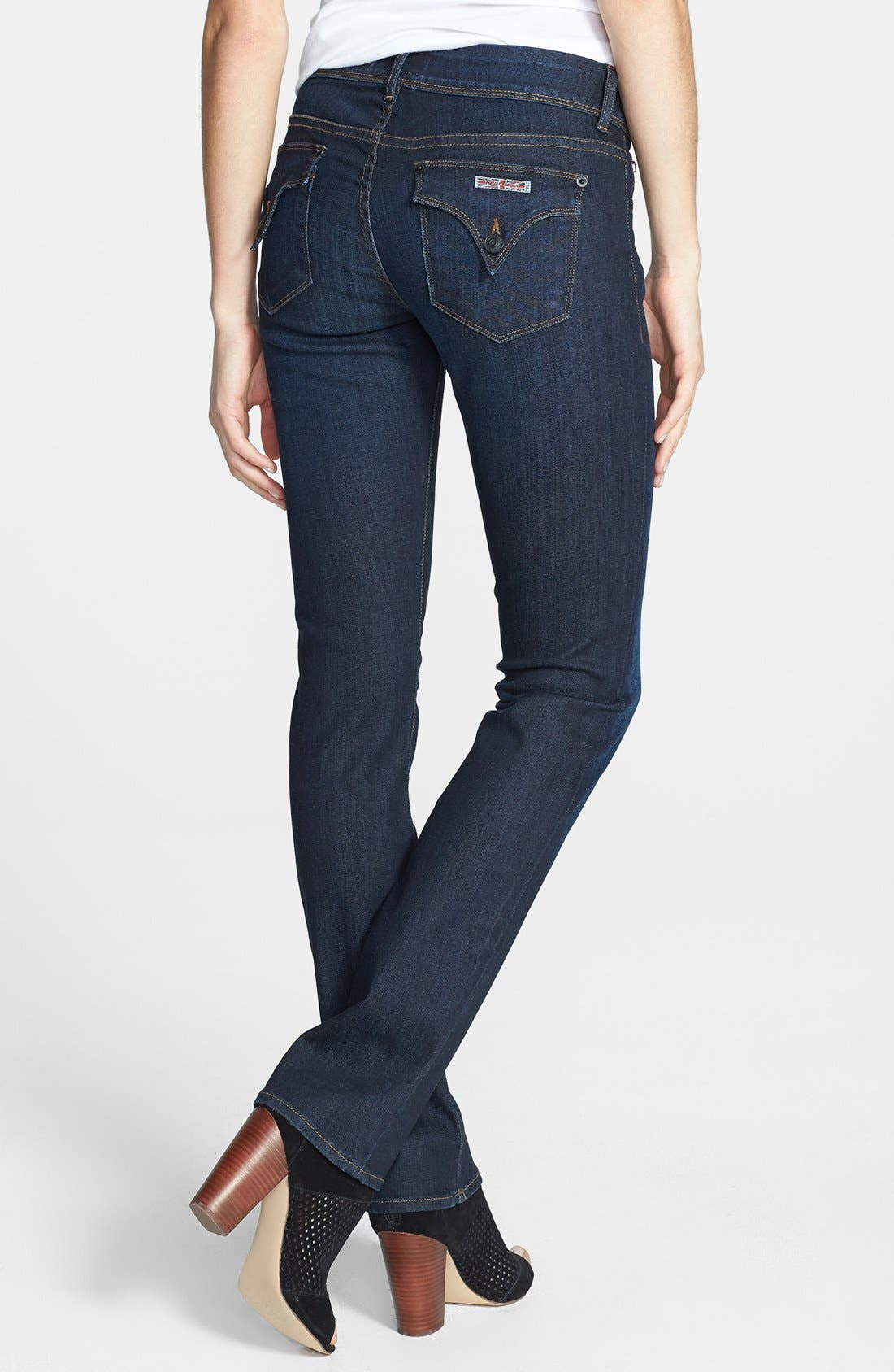 Alternate Image 2  - Hudson Jeans 'Ginny' Straight Leg Jeans (London Calling)