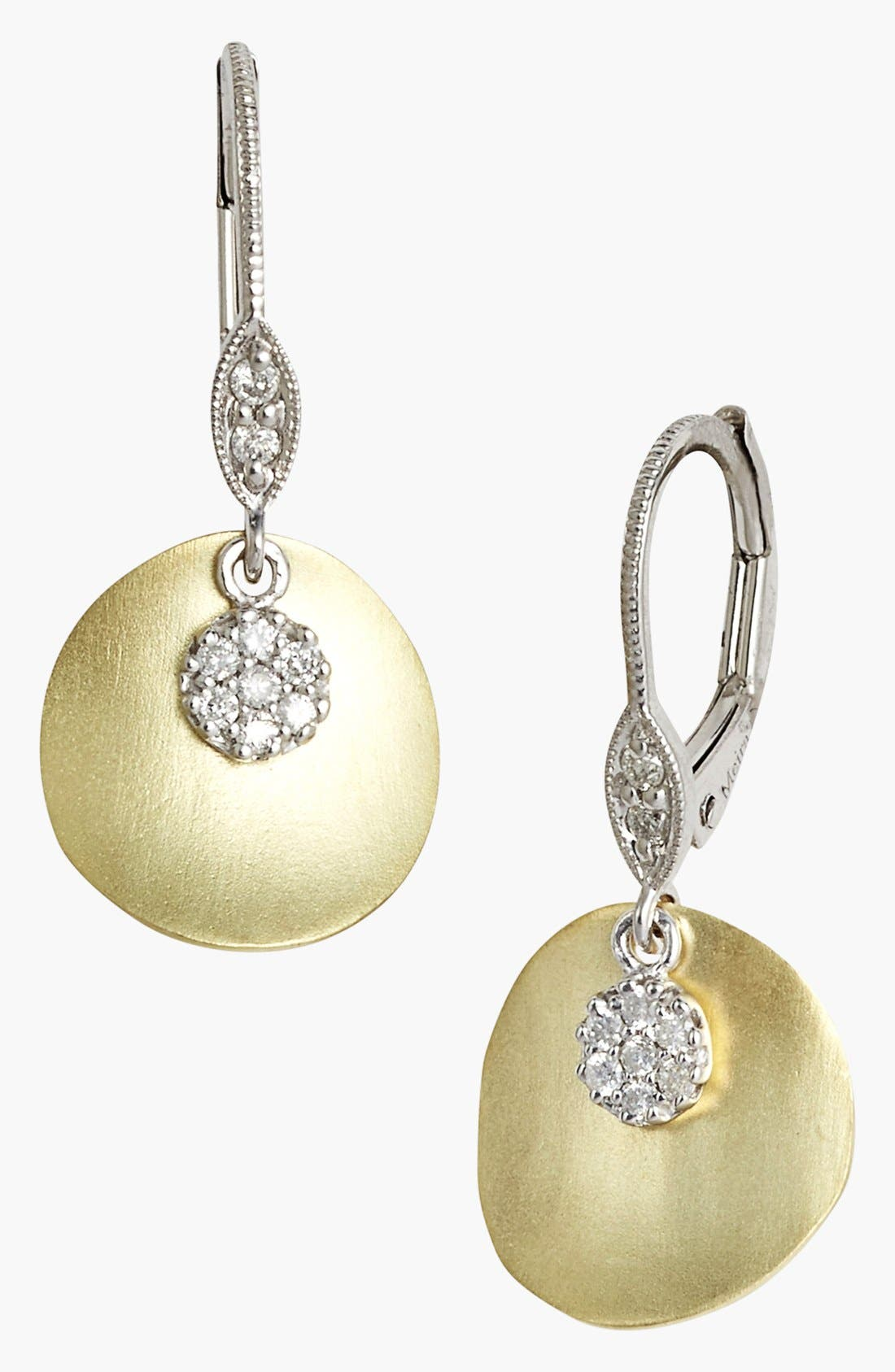 Alternate Image 1 Selected - MeiraT 'Charmed' Diamond Drop Earrings