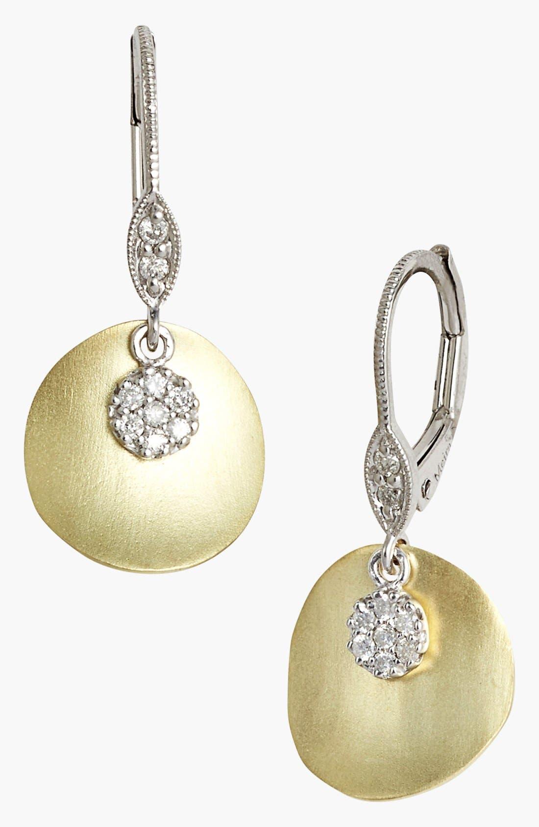 MeiraT 'Charmed' Diamond Drop Earrings