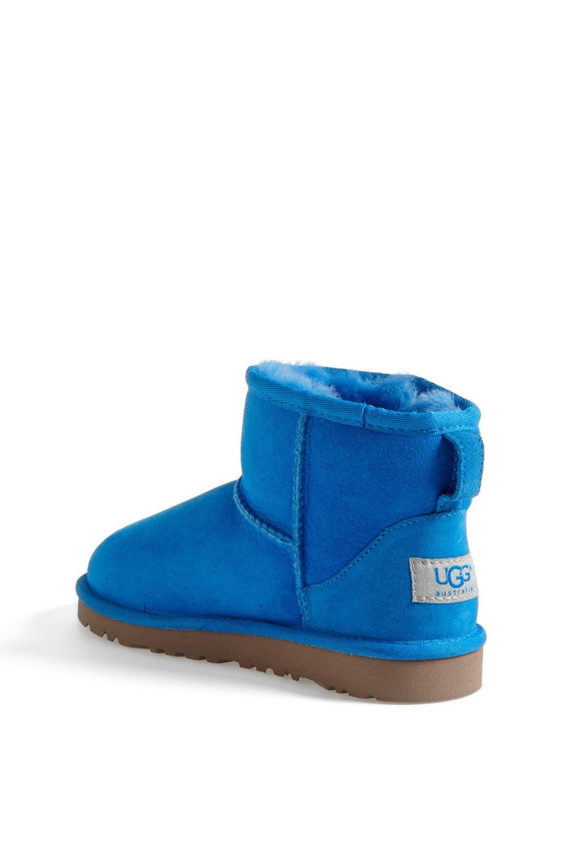 Alternate Image 2  - UGG® Australia 'Classic Mini' Boot (Little Kid & Big Kid)