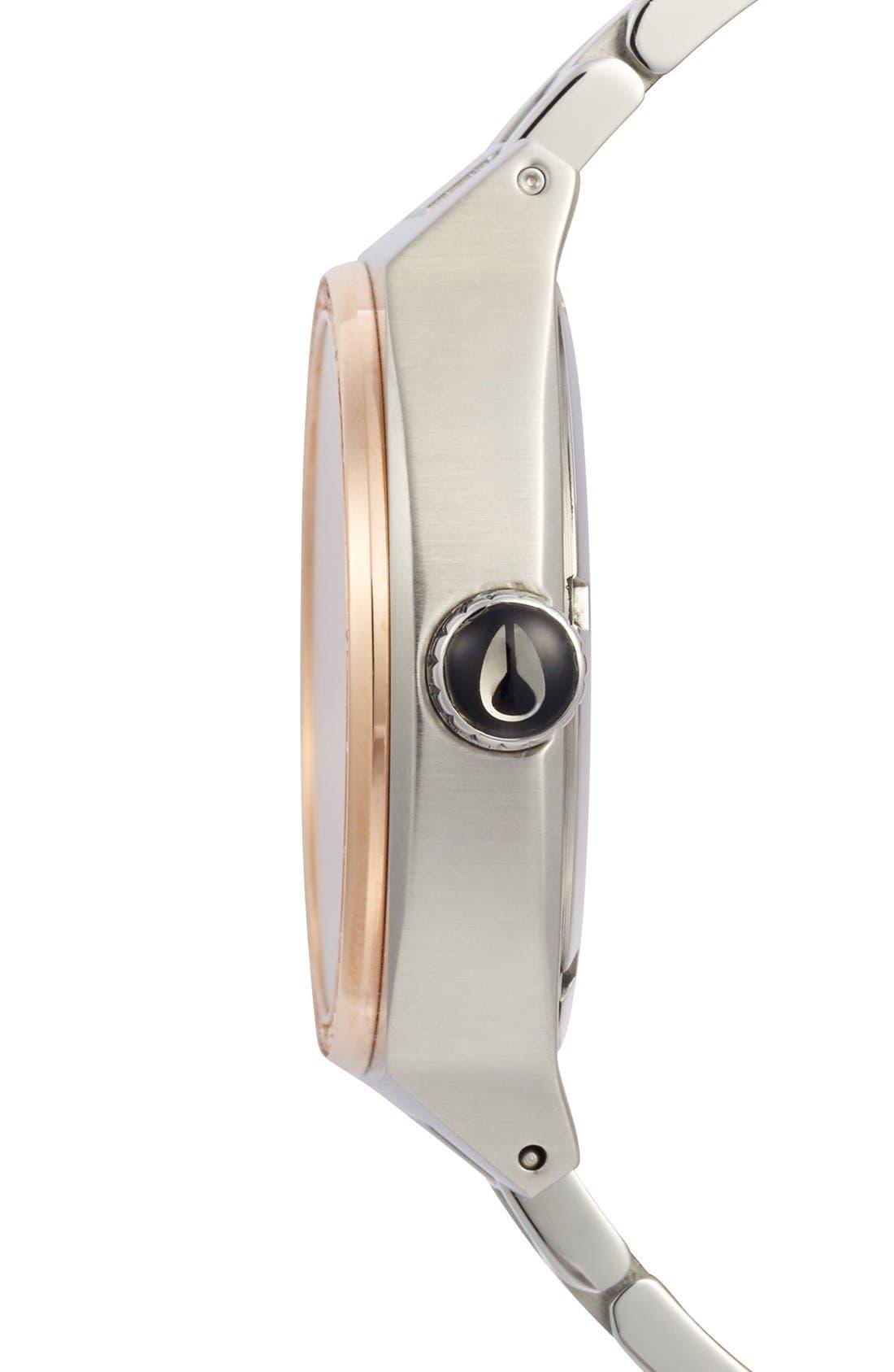 Alternate Image 3  - Nixon 'The Crystal Monopoly' Bracelet Watch, 40mm