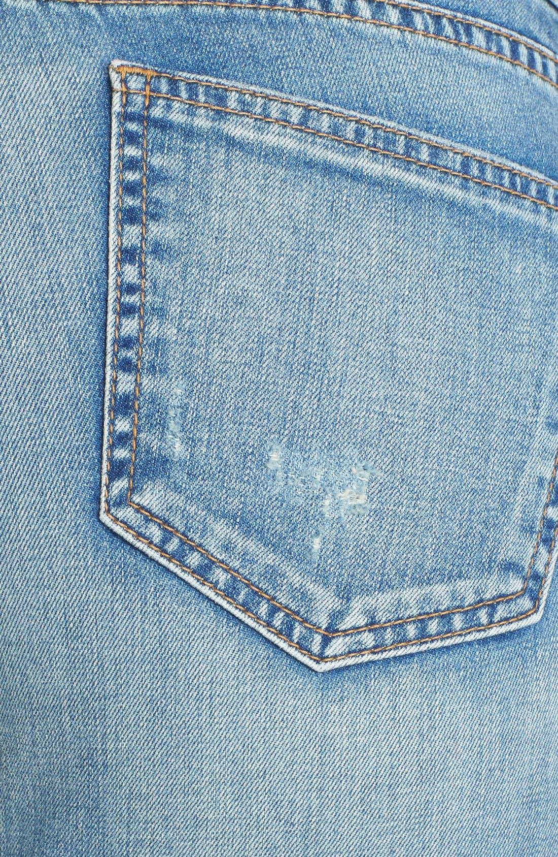 Alternate Image 3  - edyson 'Sloan' Destroyed Skinny Jeans (Marmi)