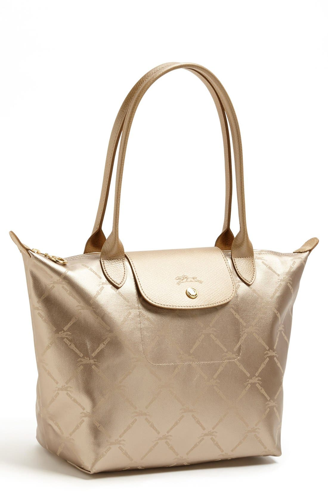 Alternate Image 1 Selected - Longchamp 'Medium LM Métal' Shoulder Tote