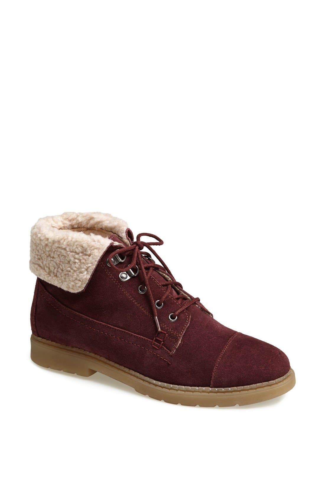 Alternate Image 1 Selected - Topshop 'Murry' Cuffed Hiker Boot