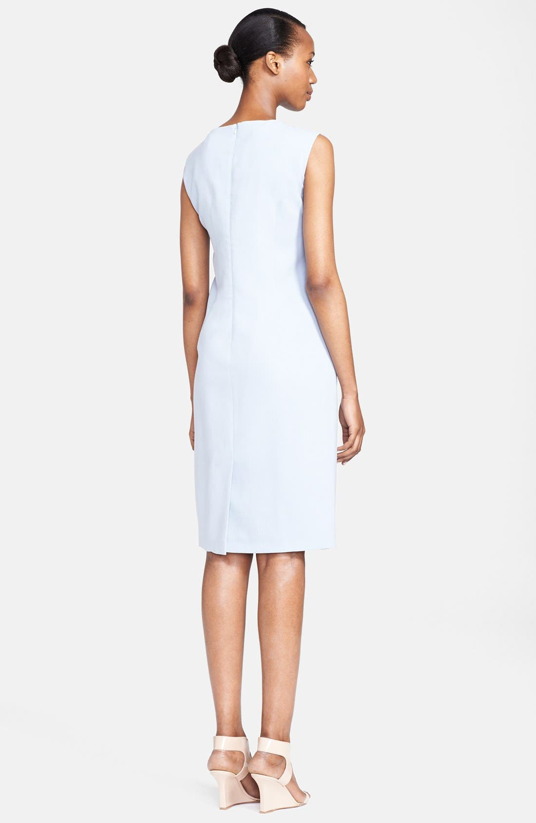 Alternate Image 2  - Max Mara 'Pasta' Stretch Wool Sheath Dress