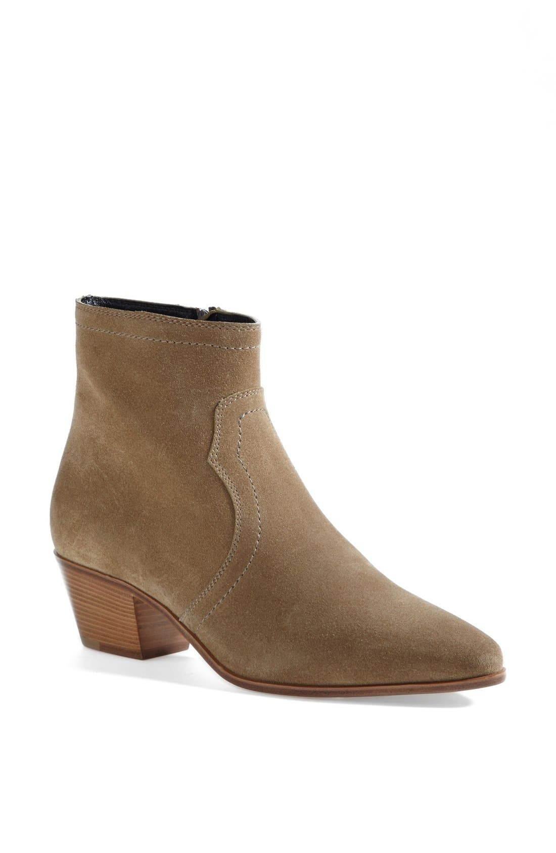 Alternate Image 1 Selected - Saint Laurent 'Rock' Calfskin Leather Boot