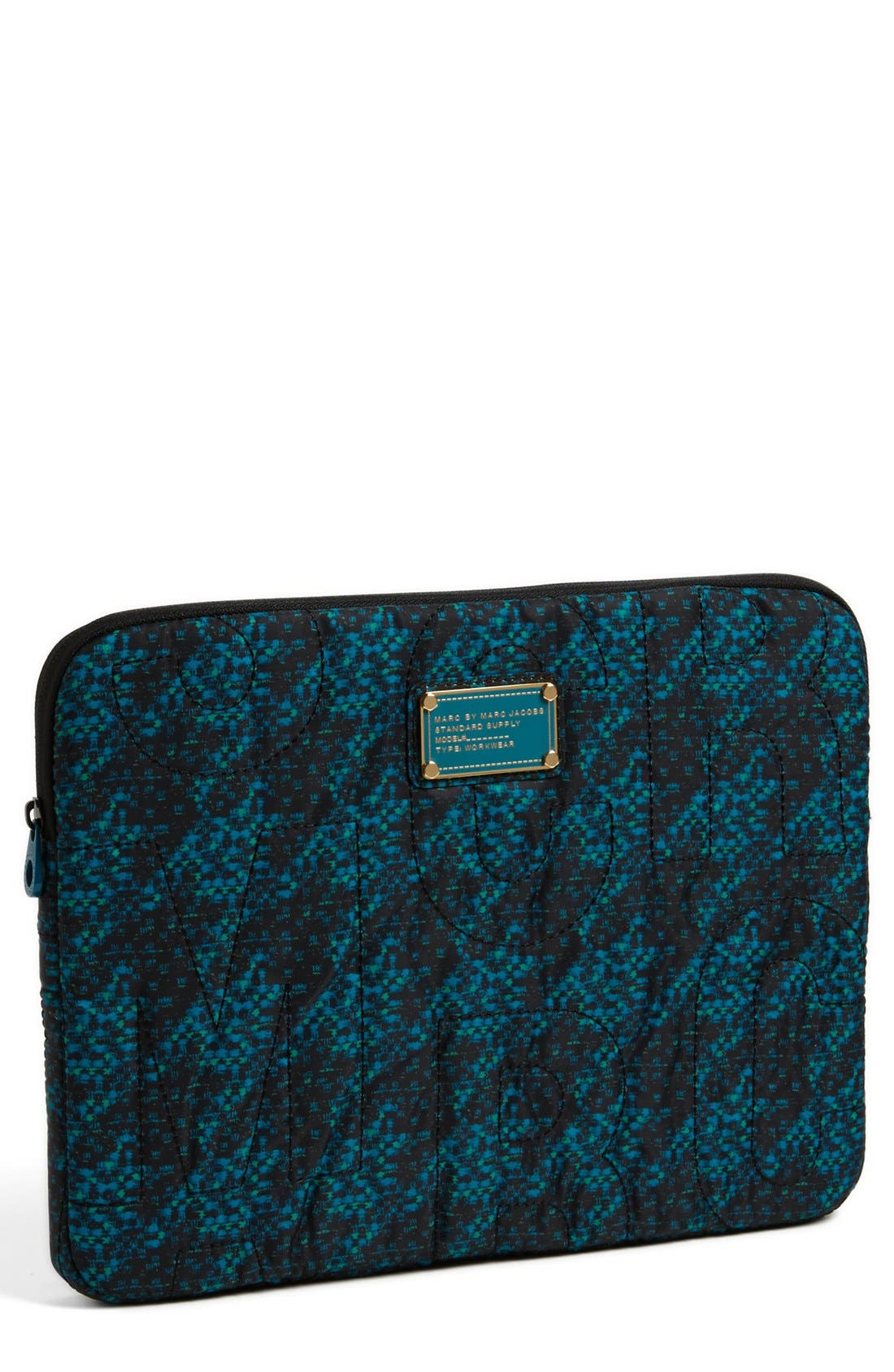 Main Image - MARC BY MARC JACOBS Zip Up Laptop Sleeve (13 Inch)