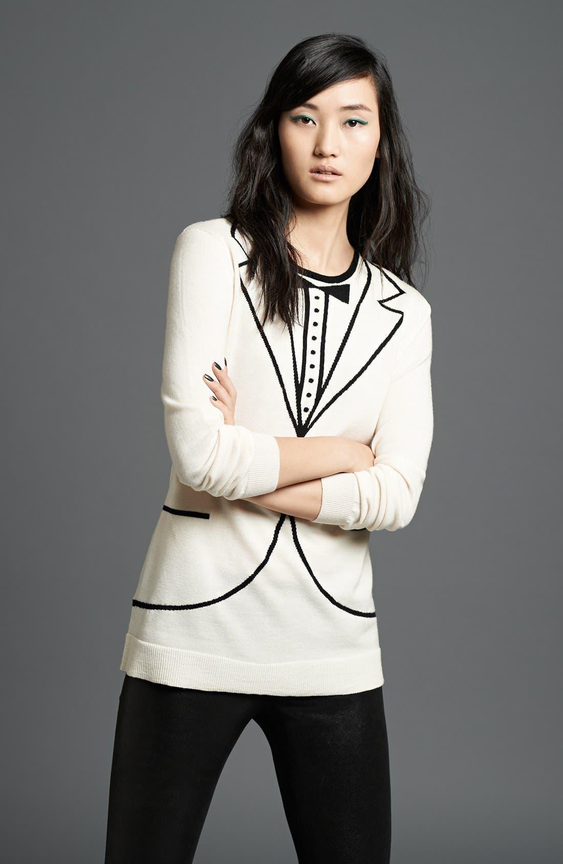Main Image - L'AGENCE Sweater & Leggings