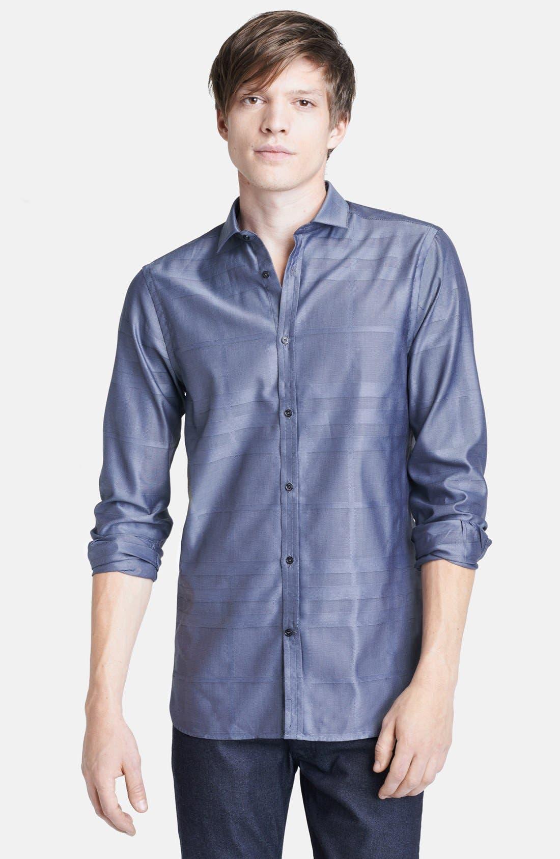 Main Image - Burberry London 'Halesforth' Modern Fit Dress Shirt