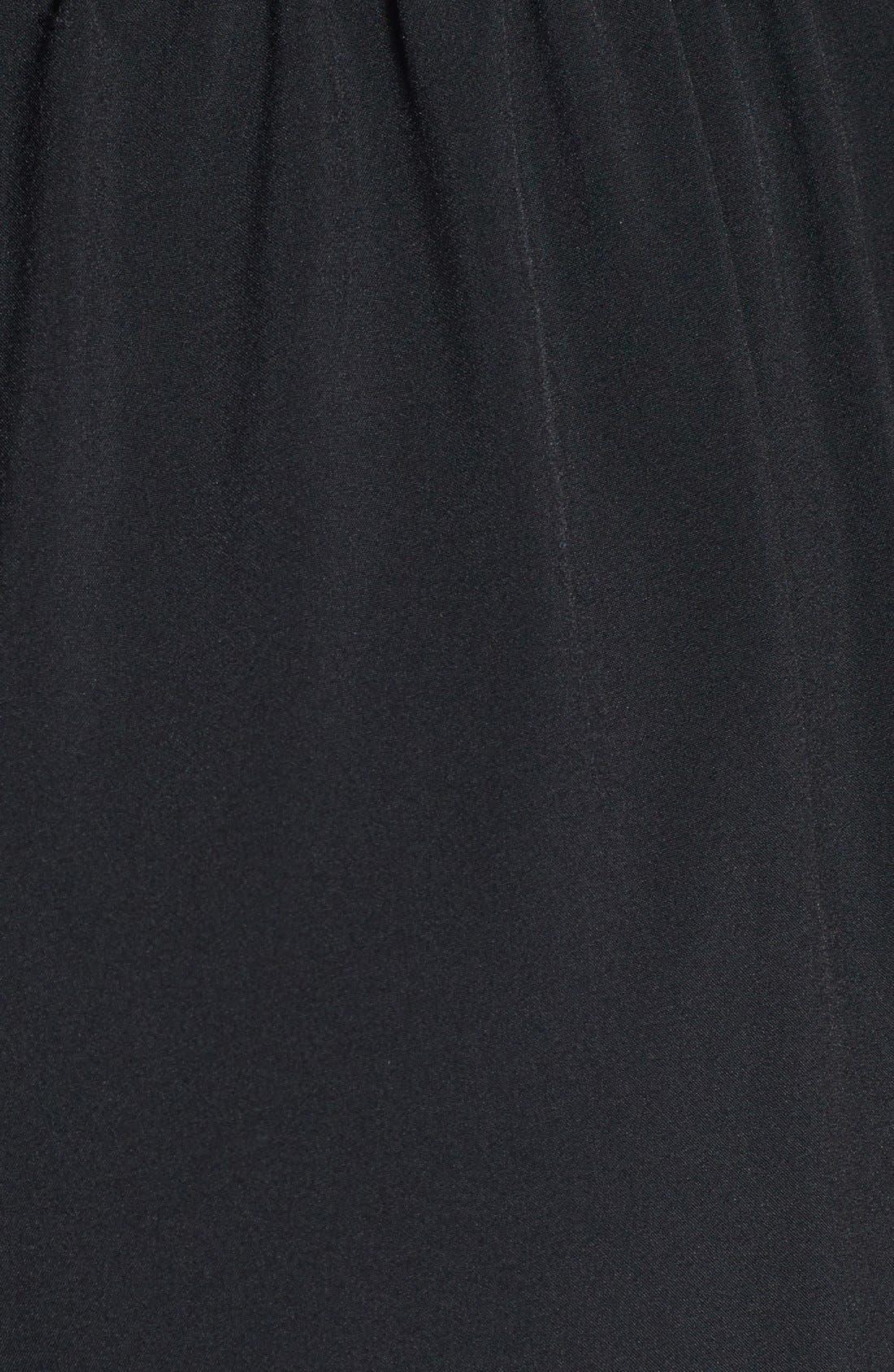 Alternate Image 3  - Rules of Etiquette Tie Front Strapless Jumpsuit