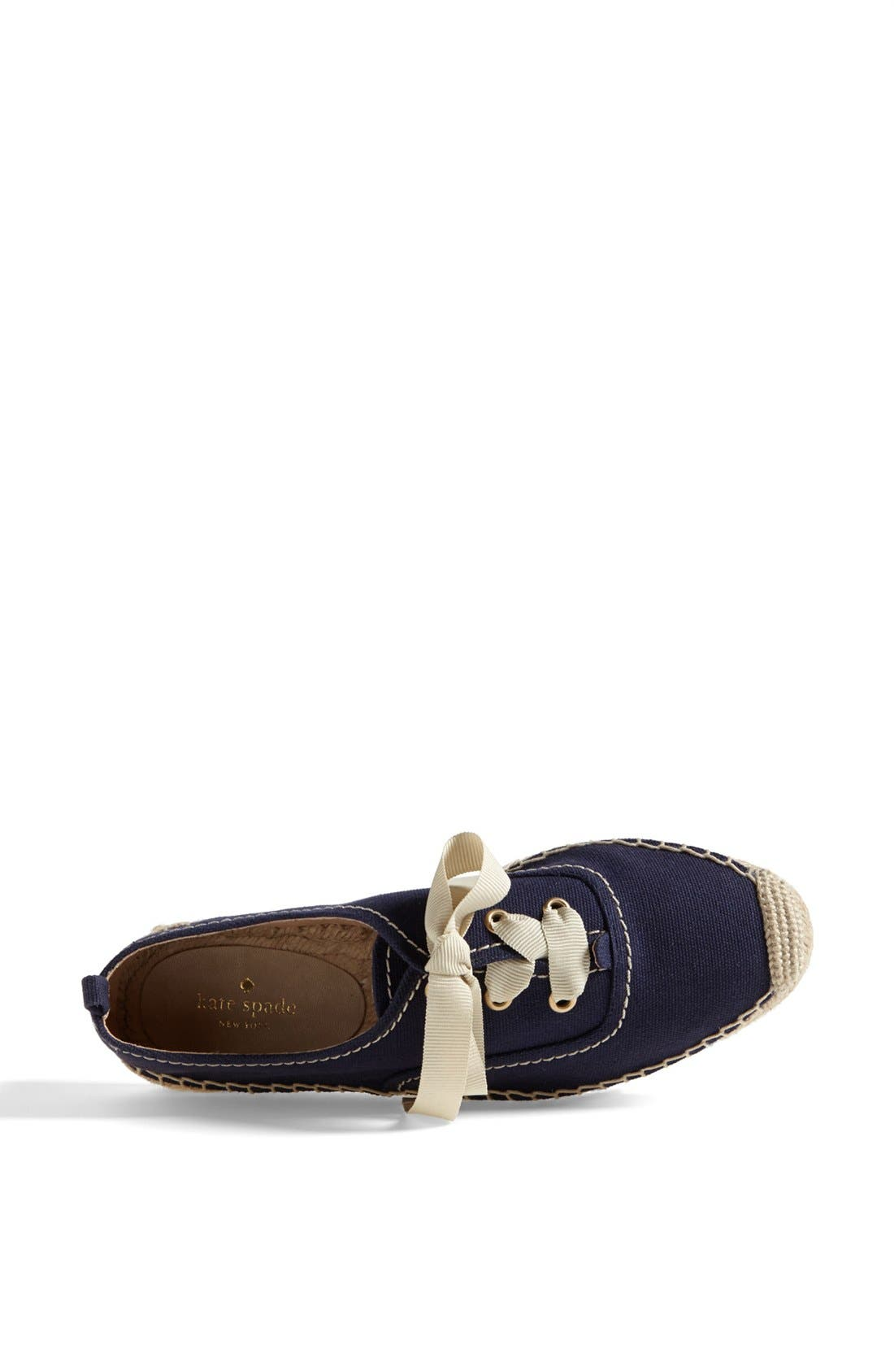 Alternate Image 3  - kate spade new york 'lina' espadrille oxford