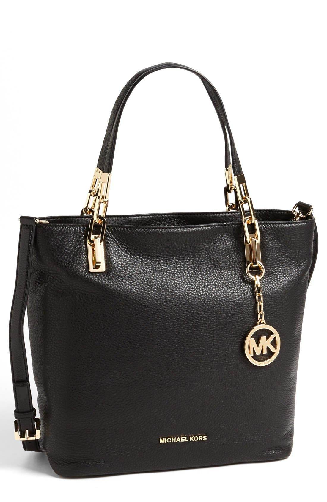 Alternate Image 1 Selected - MICHAEL Michael Kors 'Medium Brooke' Leather Tote
