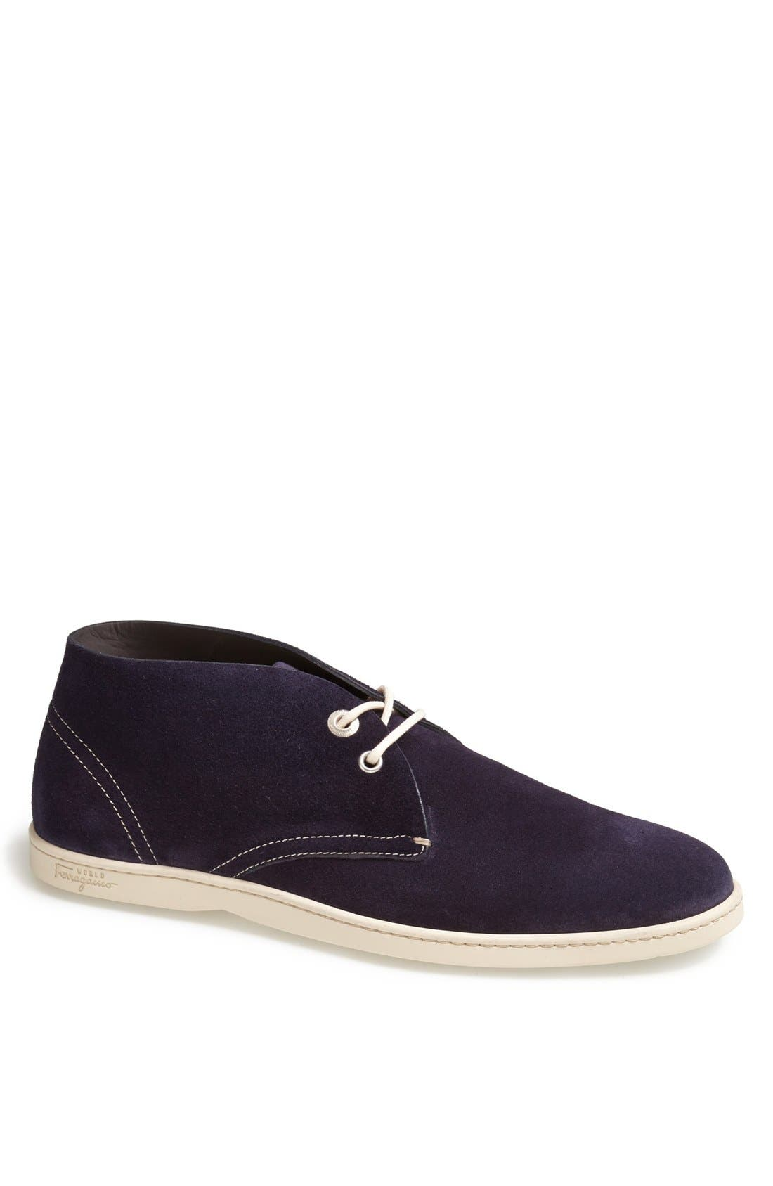 Alternate Image 1 Selected - Salvatore Ferragamo 'Rico' Chukka Sneaker