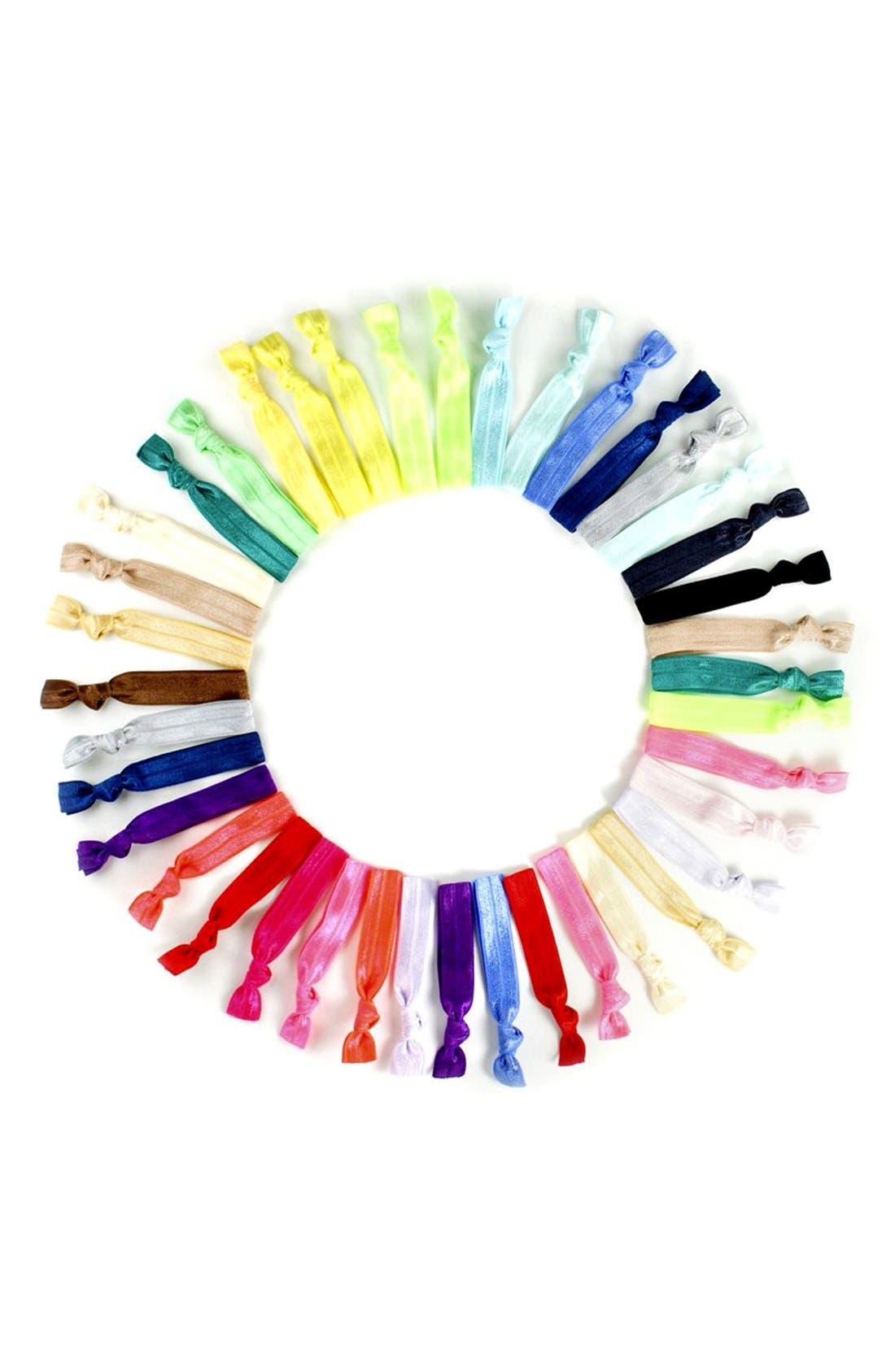 Alternate Image 2  - Kitsch Ponytail Holders (50-pack) (Girls)
