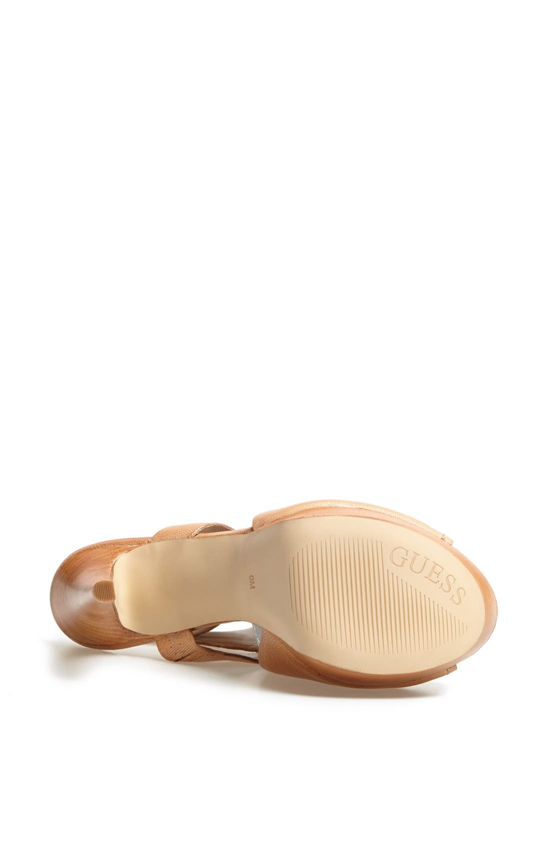 Alternate Image 4  - GUESS 'Gwofira' Platform Sandal