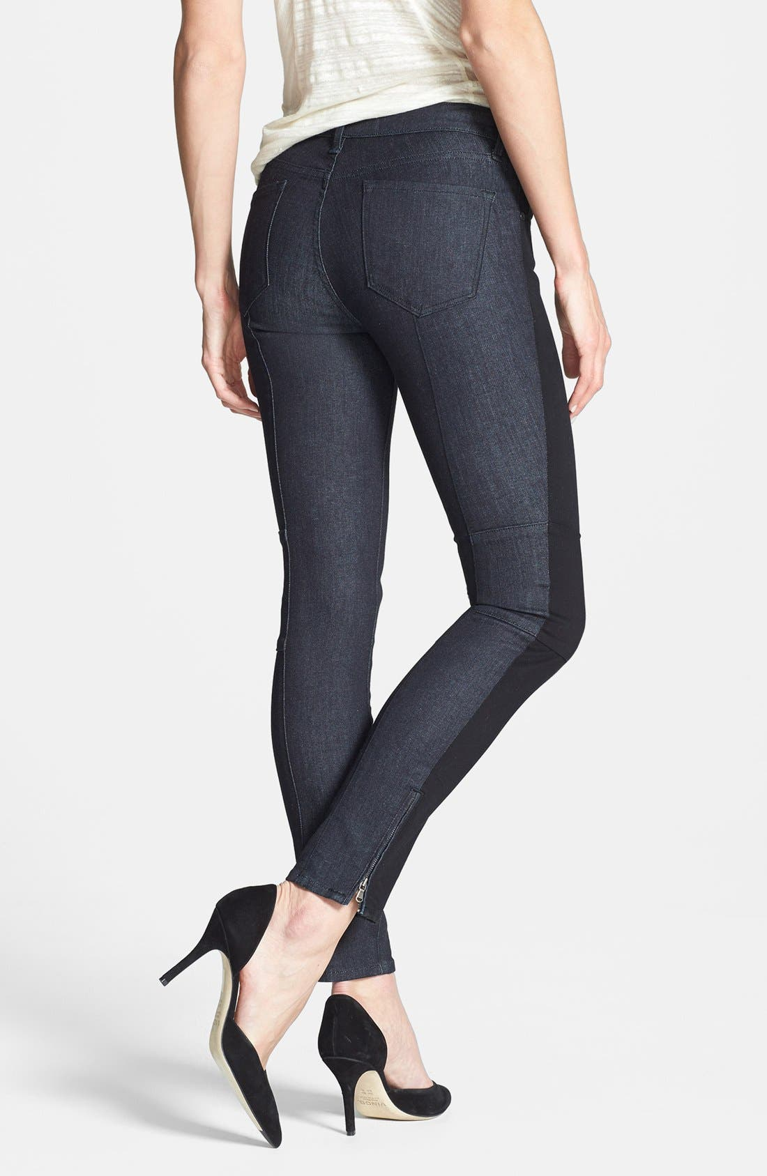 Alternate Image 2  - MARC BY MARC JACOBS Seamed Stretch Crop Cigarette Leg Jeans