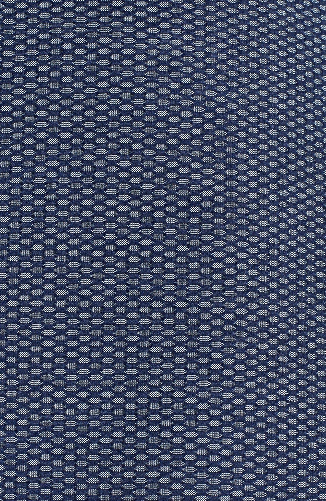 Alternate Image 3  - Halogen® Jacquard Mesh A-Line Skirt (Petite)